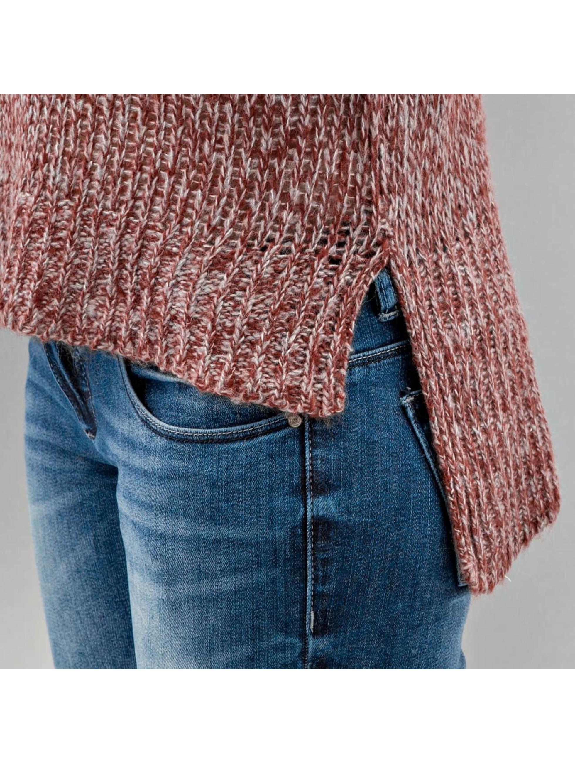 Vero Moda Swetry vmCamille czerwony