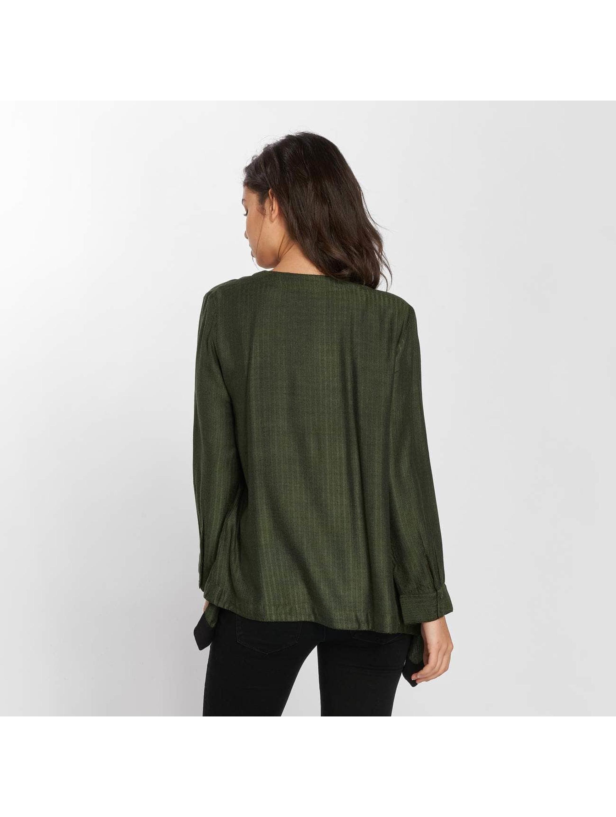 Vero Moda Swetry rozpinane vmMichelle zielony