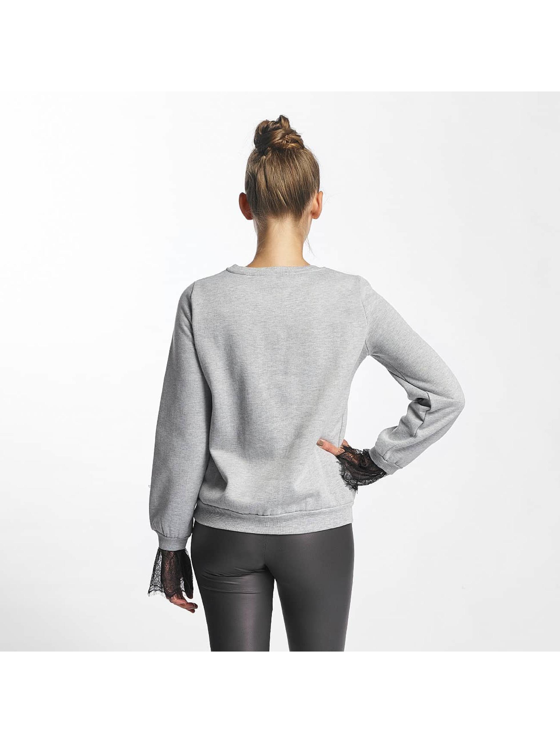 Vero Moda Swetry vmBessie szary