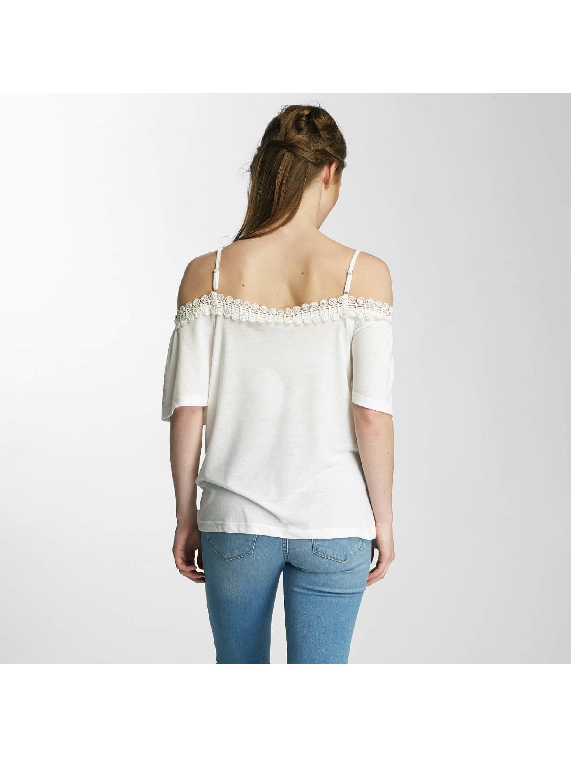 Vero Moda T-Shirt vmLua blanc