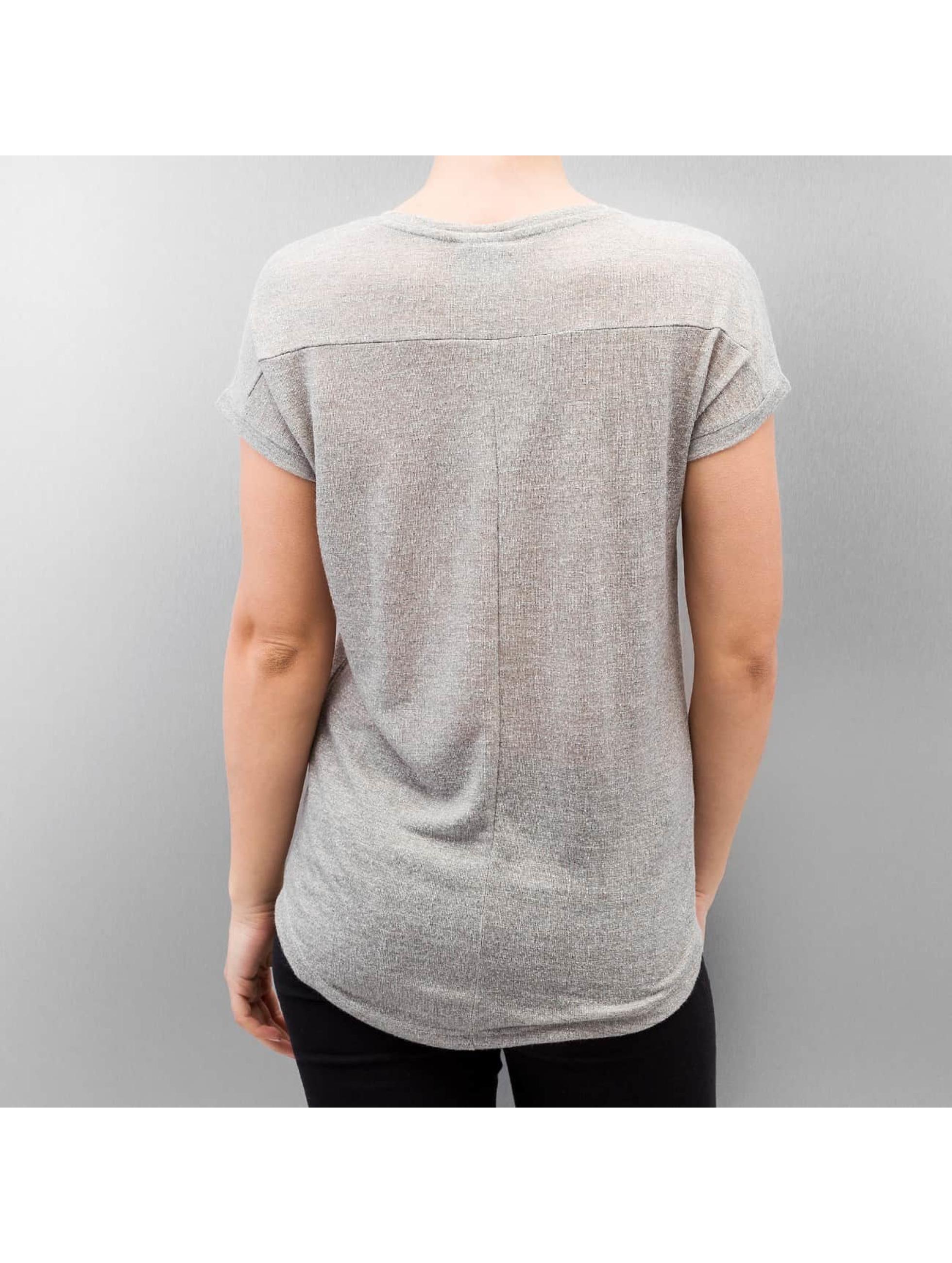 Vero Moda T-Shirt vmCalina Wide gray