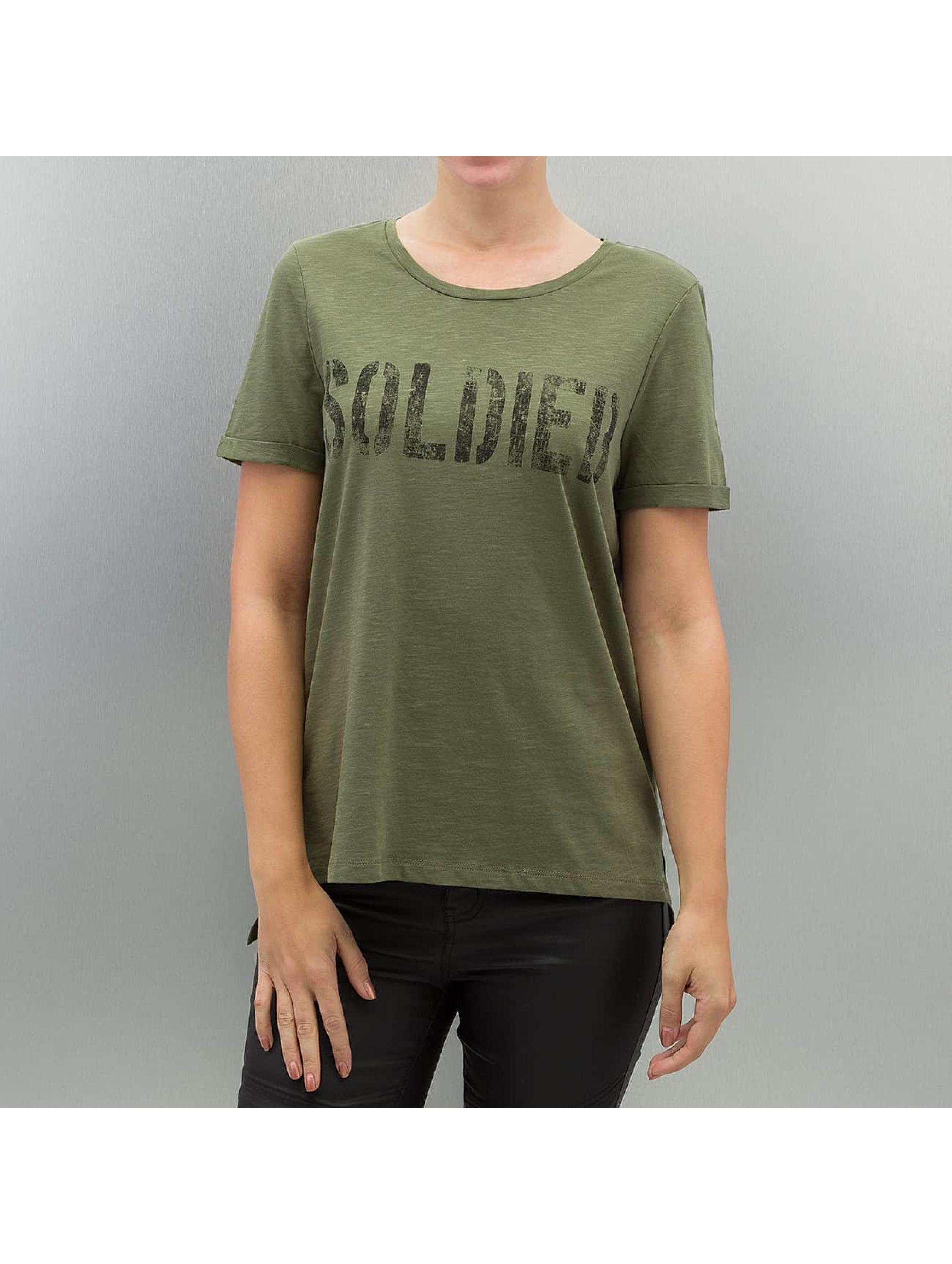 Vero Moda t-shirt vmArmy groen