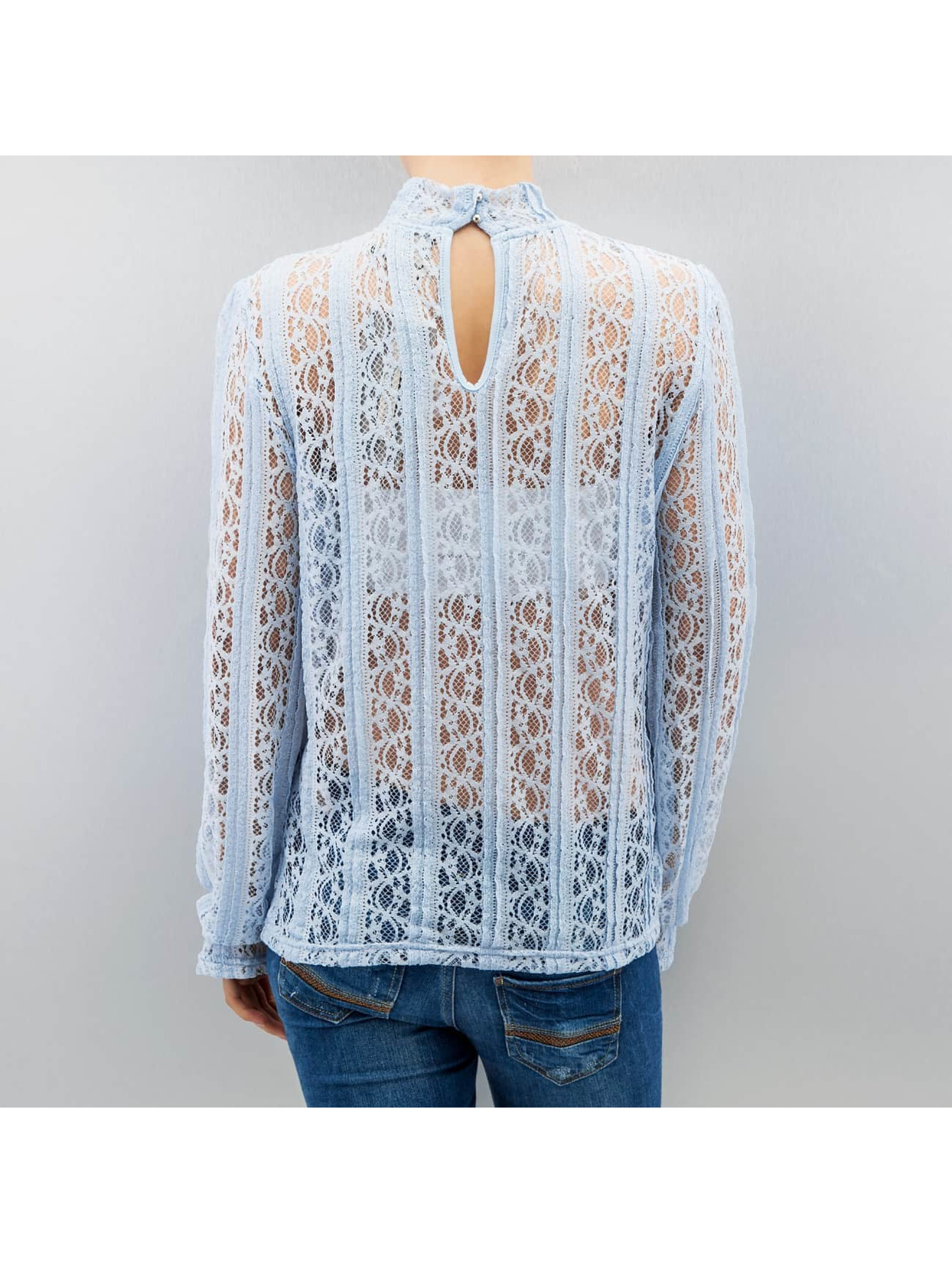 Vero Moda T-Shirt manches longues vmBibbi bleu
