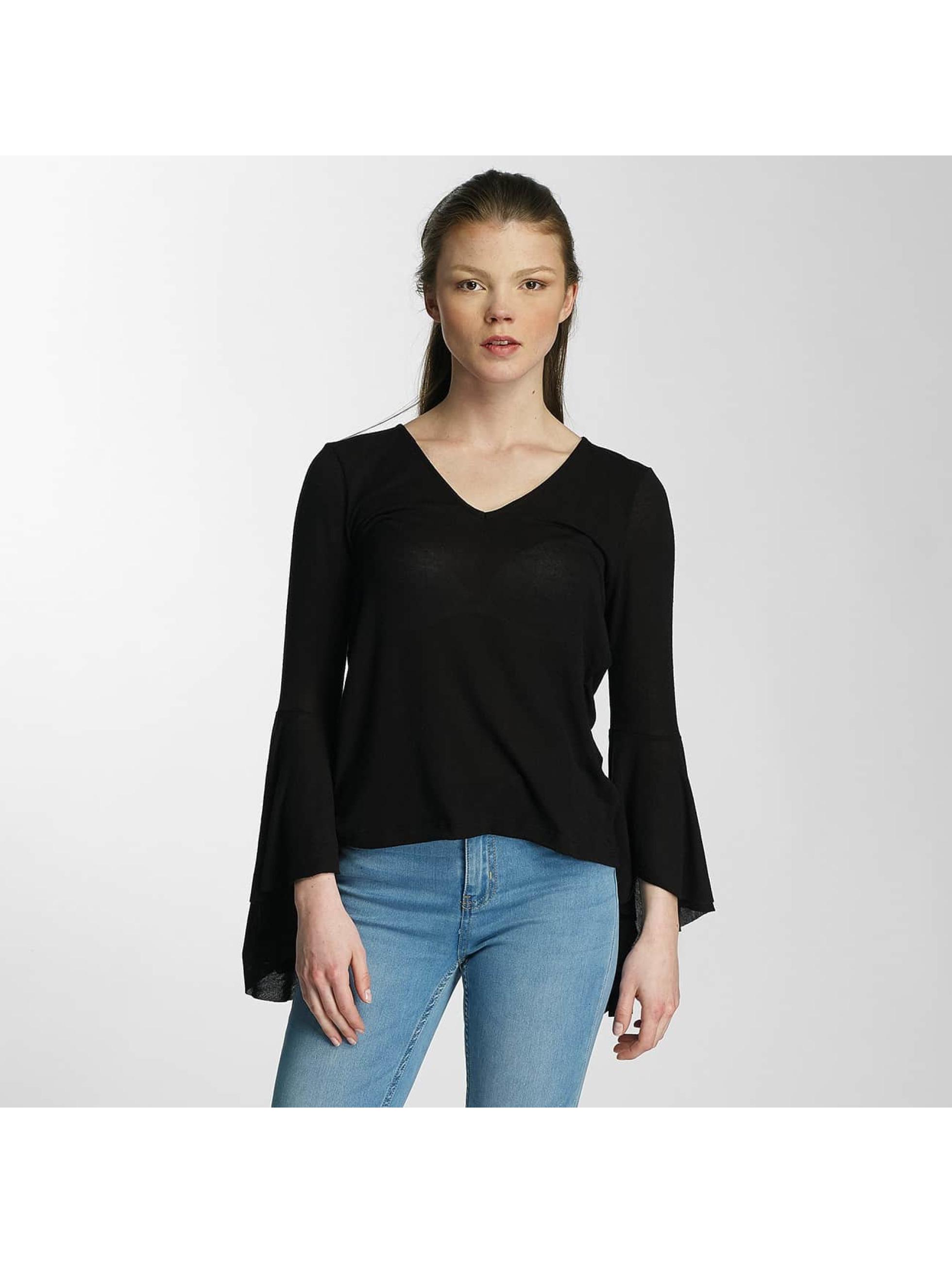 Vero Moda T-Shirt manches longues vmHonie Flare noir