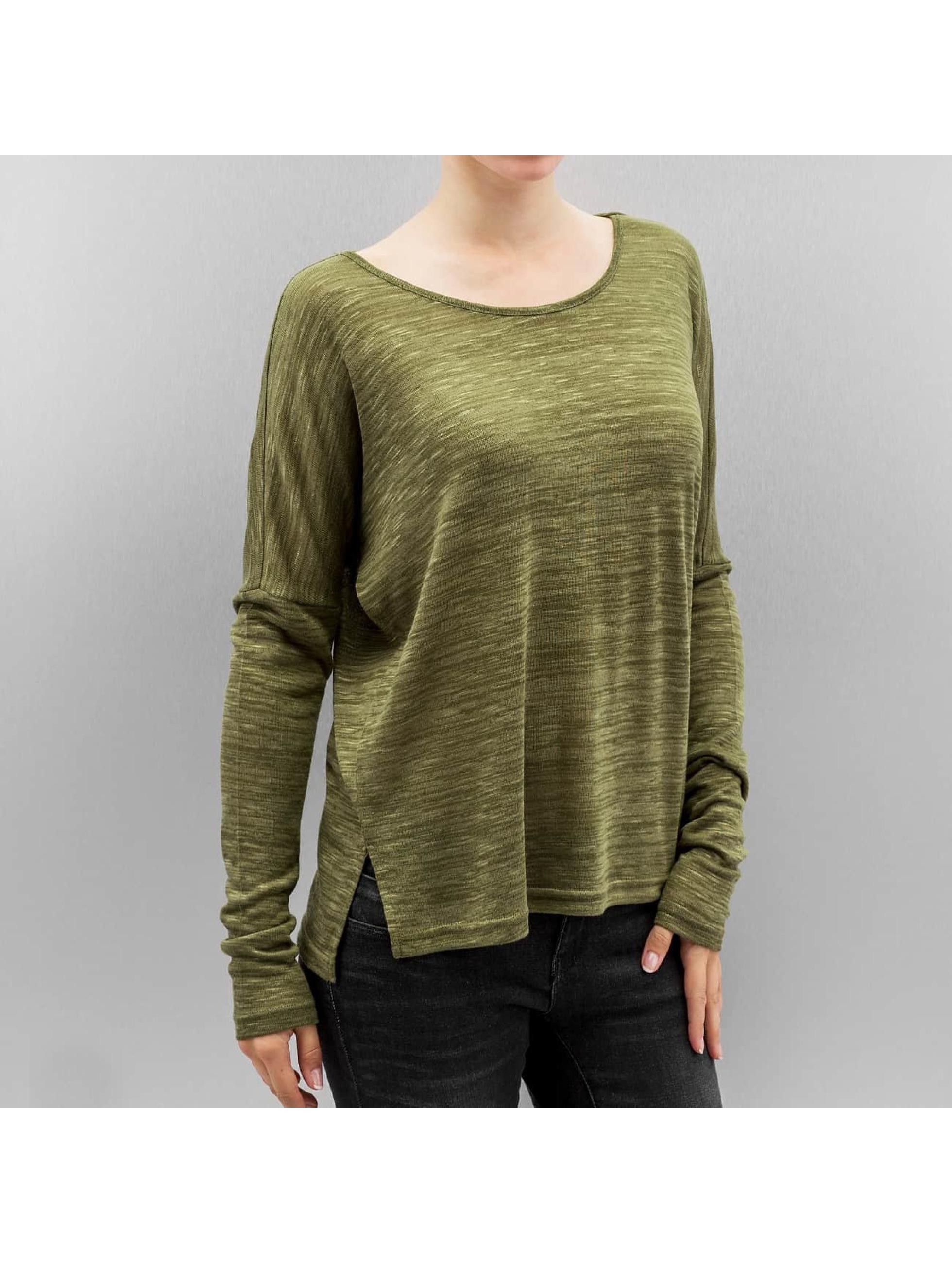 Vero Moda T-Shirt manches longues vmSabisanne vert