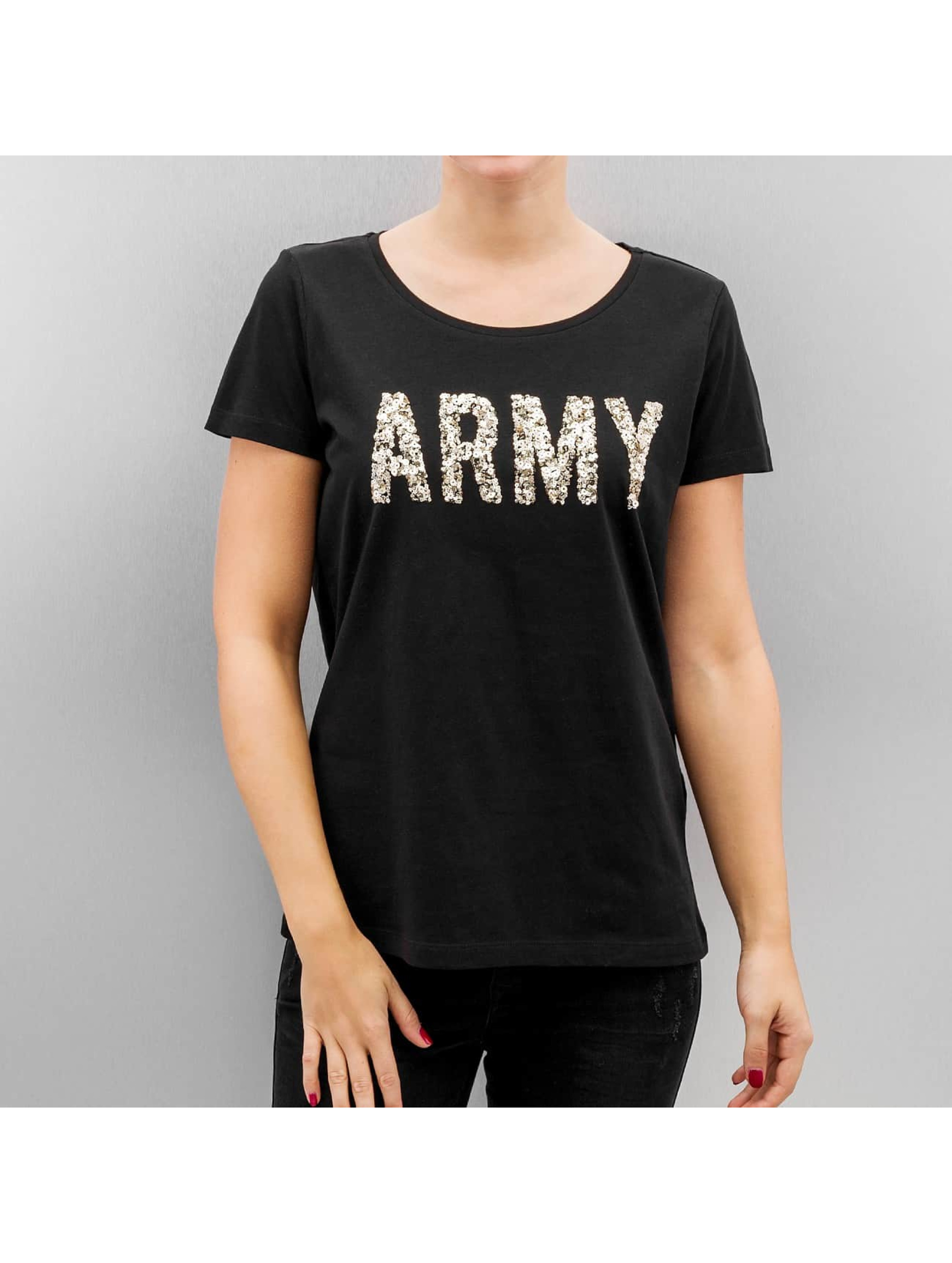 T-Shirt Vmarmy in schwarz