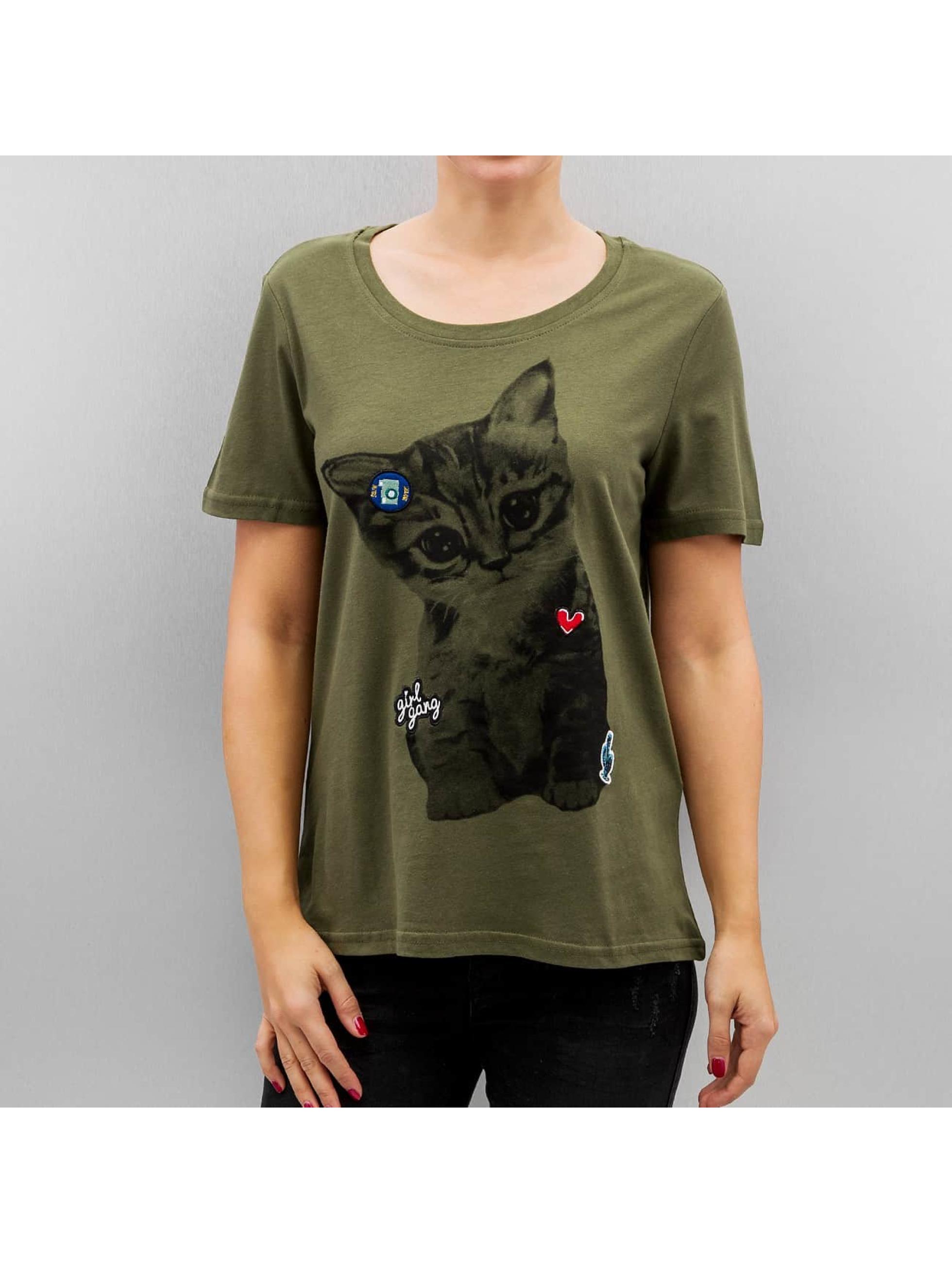 Vero Moda T-shirts Vmbiba grøn