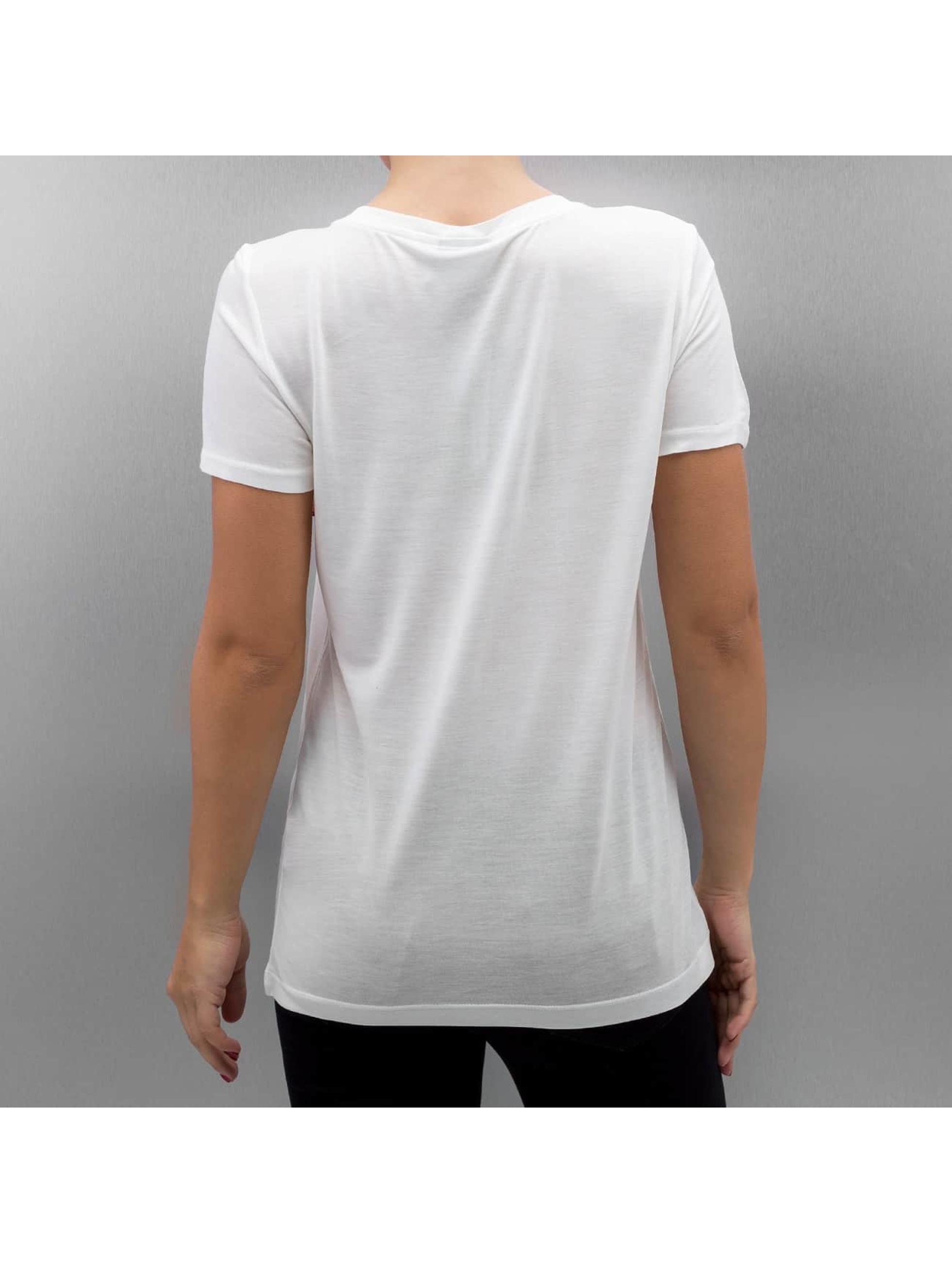 Vero Moda T-Shirty VmChristmas Sequin bialy