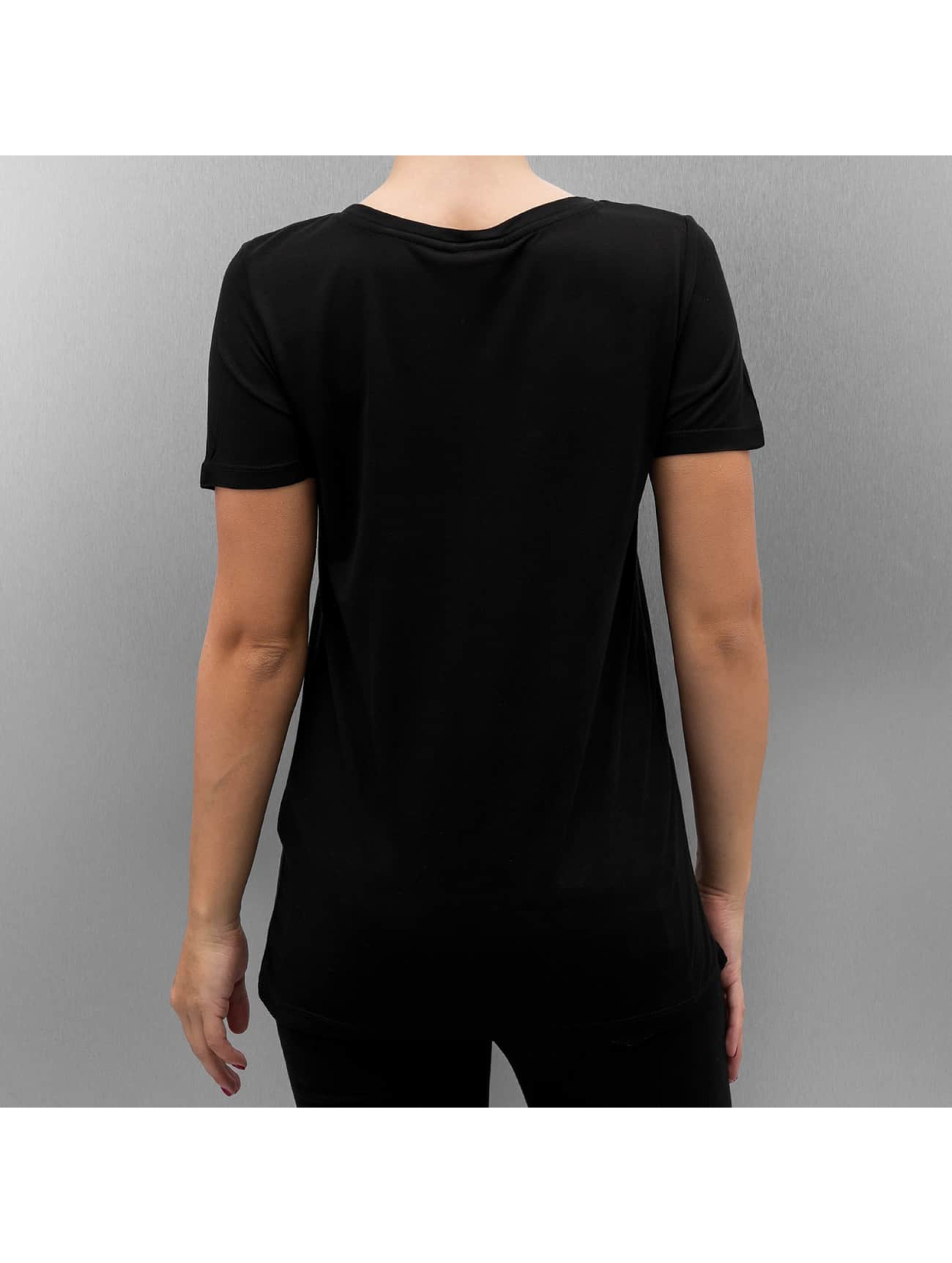 Vero Moda T-Shirty VmChristmas Sequin czarny
