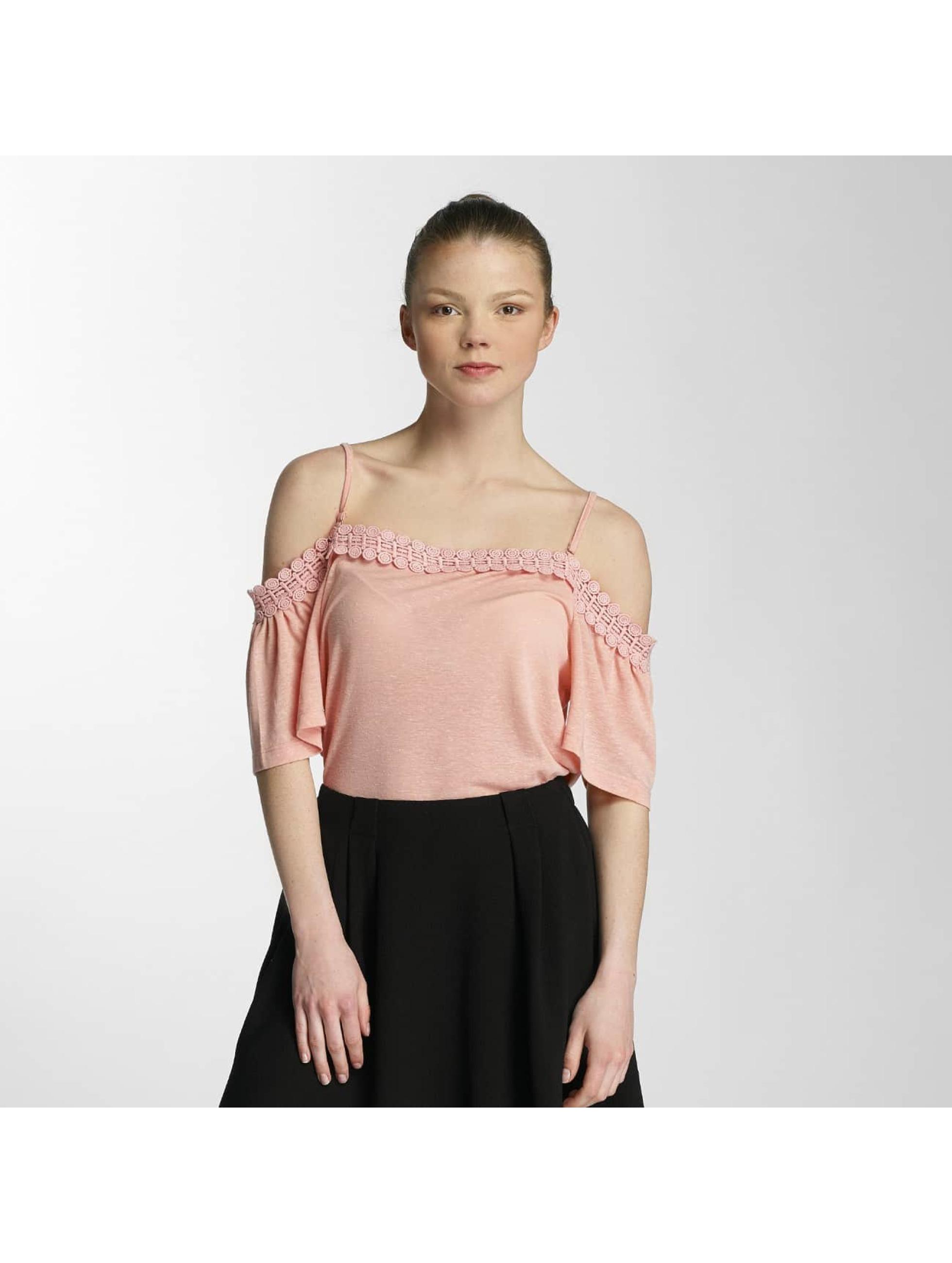 Vero Moda T-skjorter vmLua oransje