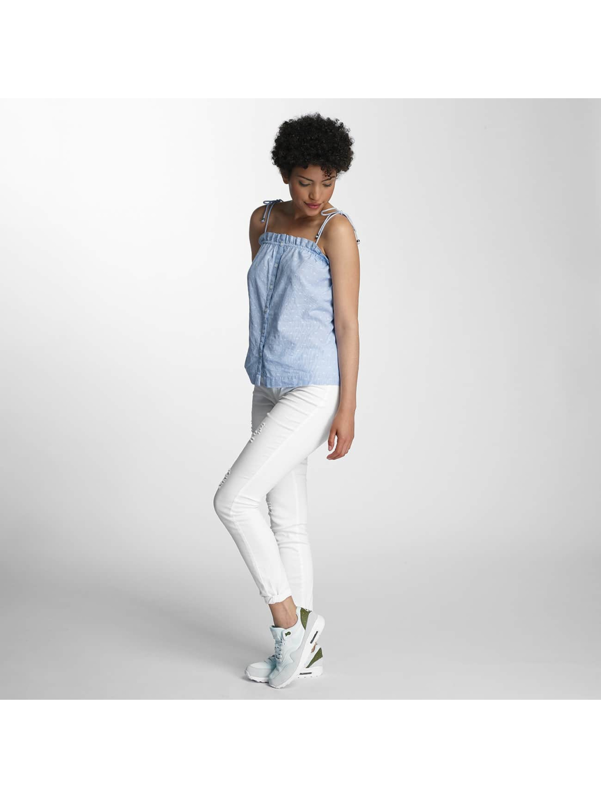 Vero Moda Top vmDot Midi Singlet Denim blue
