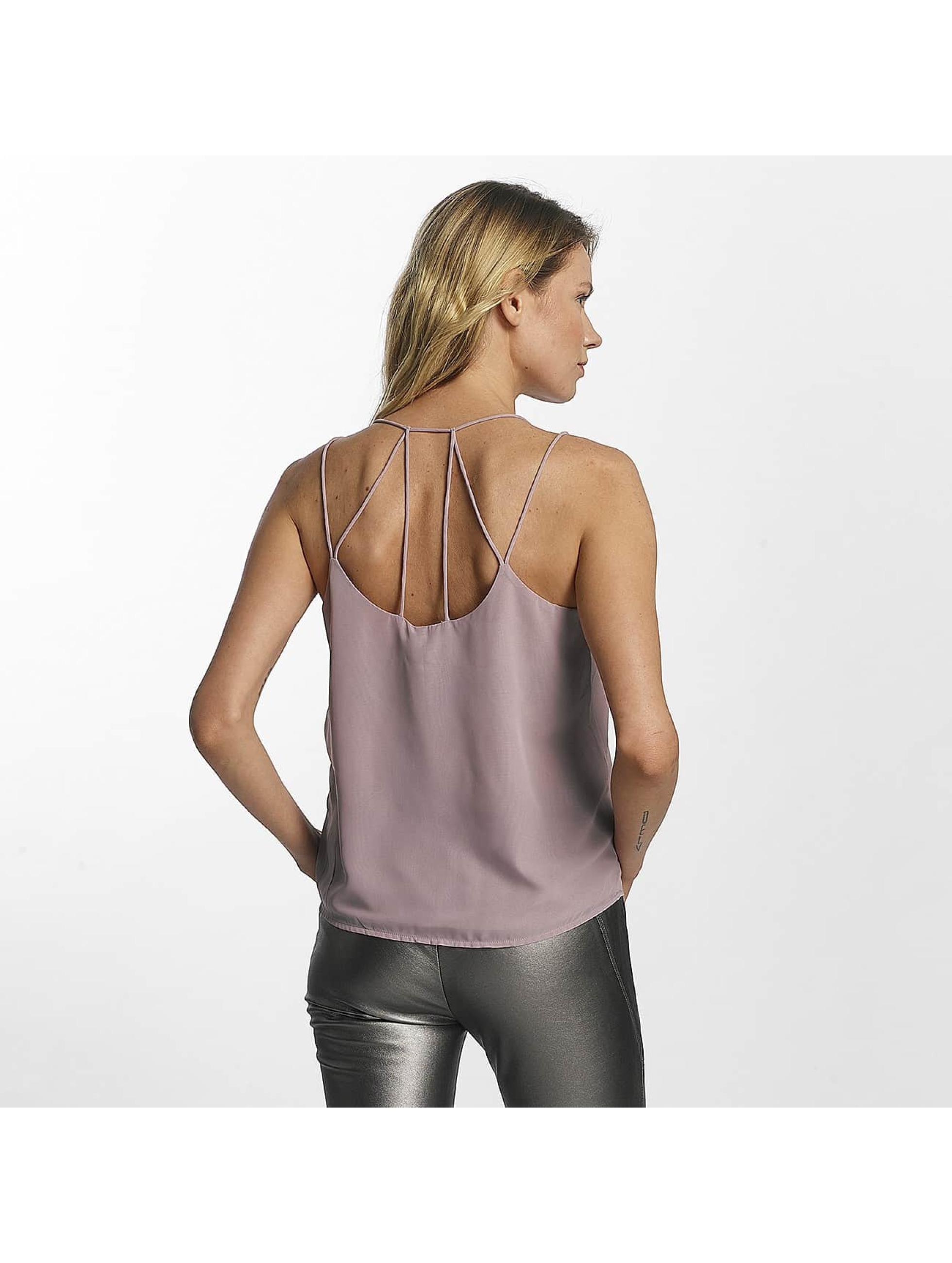 Vero Moda Top vmSexyback púrpura