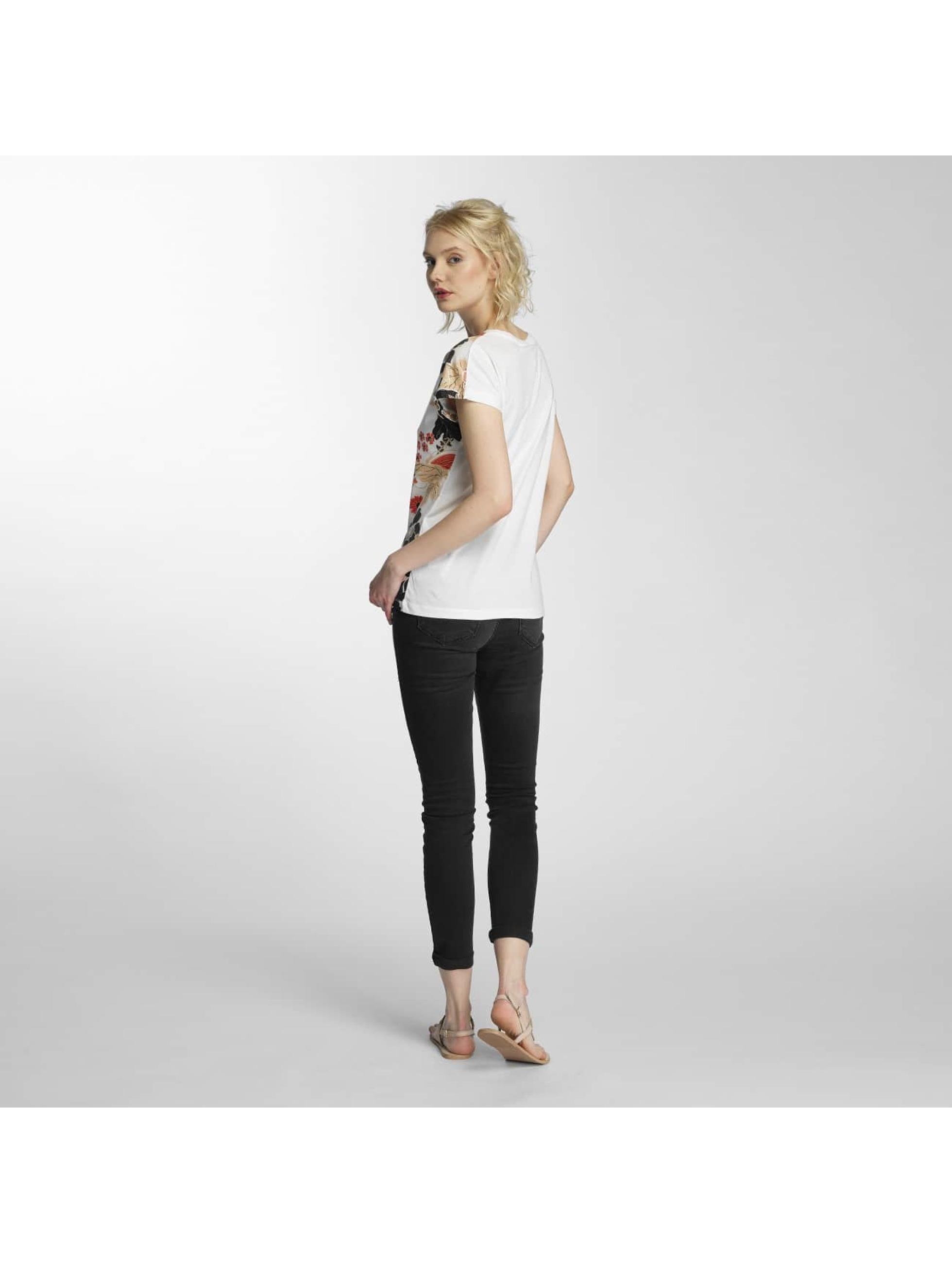 Vero Moda Tričká vmBella Adventures biela
