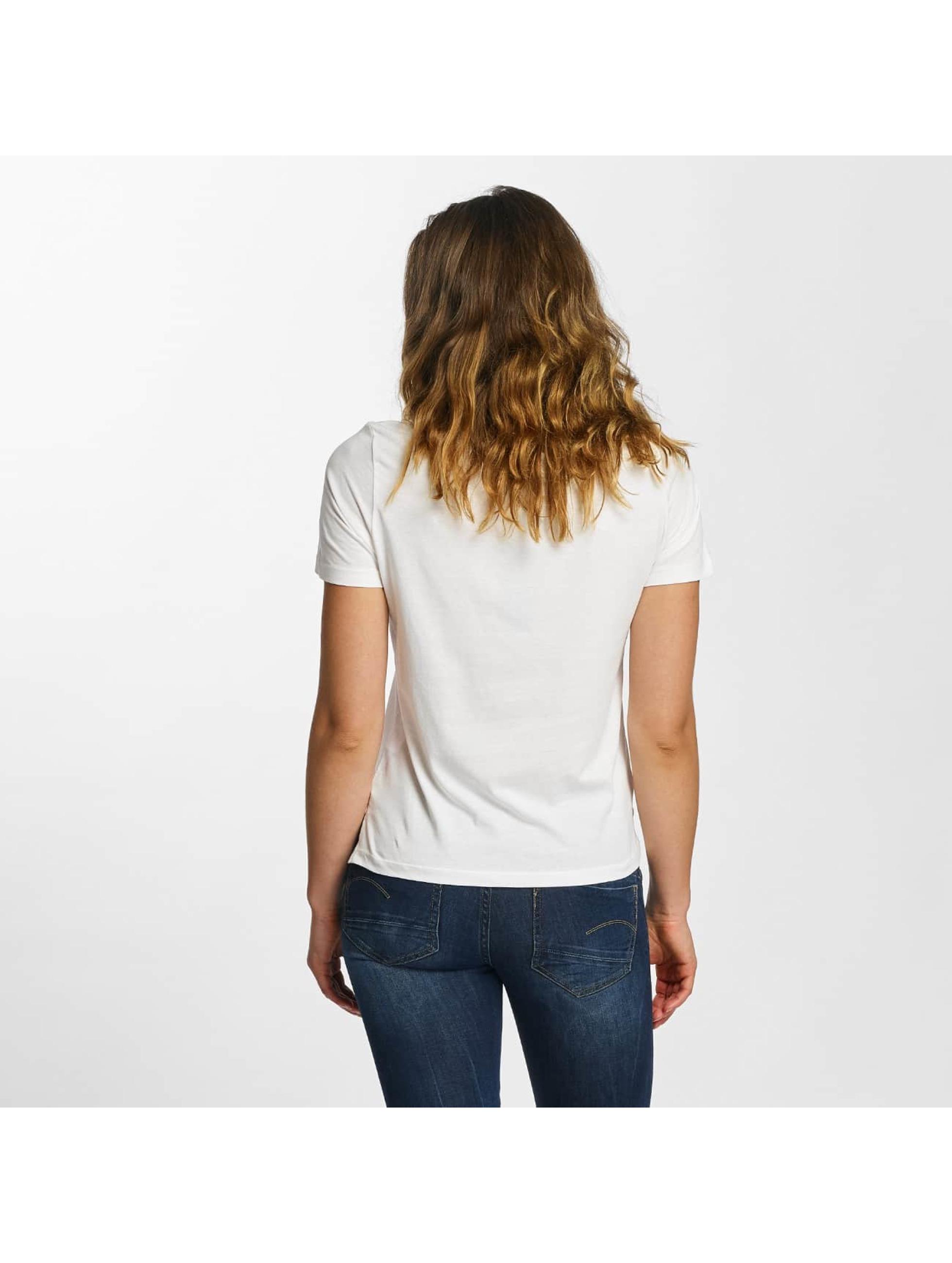 Vero Moda Tričká vmAnn Smile biela