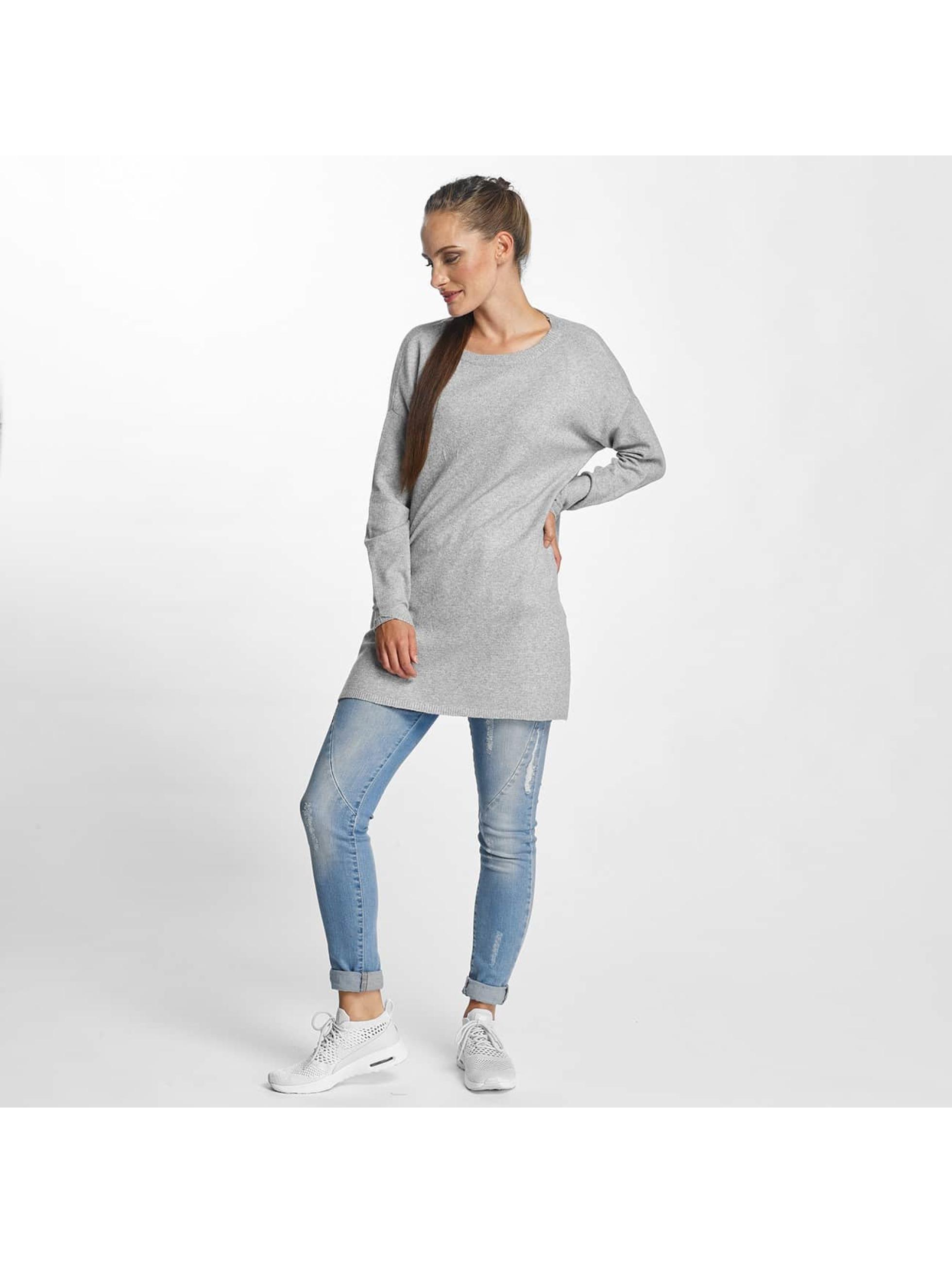Vero Moda Tričká dlhý rukáv vmBrilliant šedá