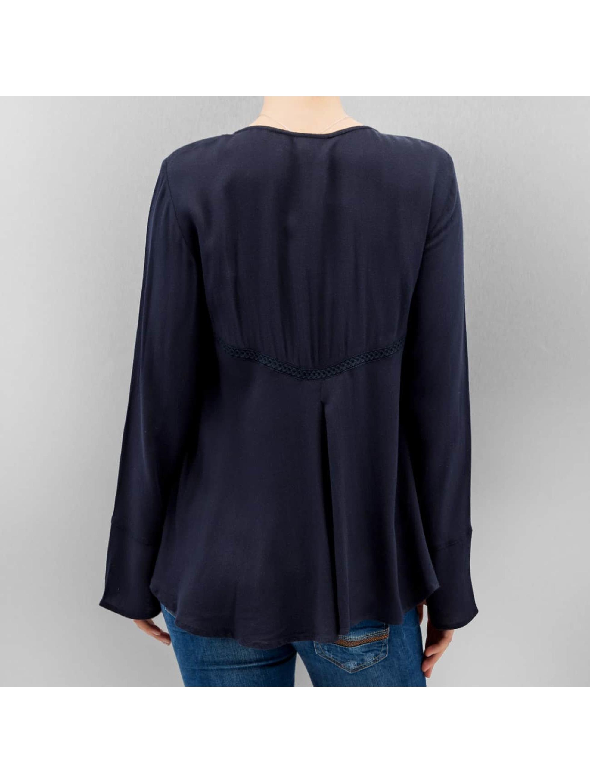 Vero Moda Tričká dlhý rukáv vmBisla modrá