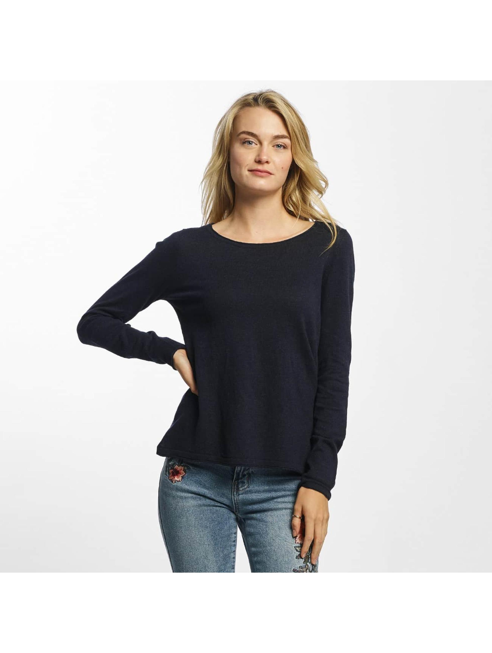 Vero Moda Tričká dlhý rukáv vmSofia modrá
