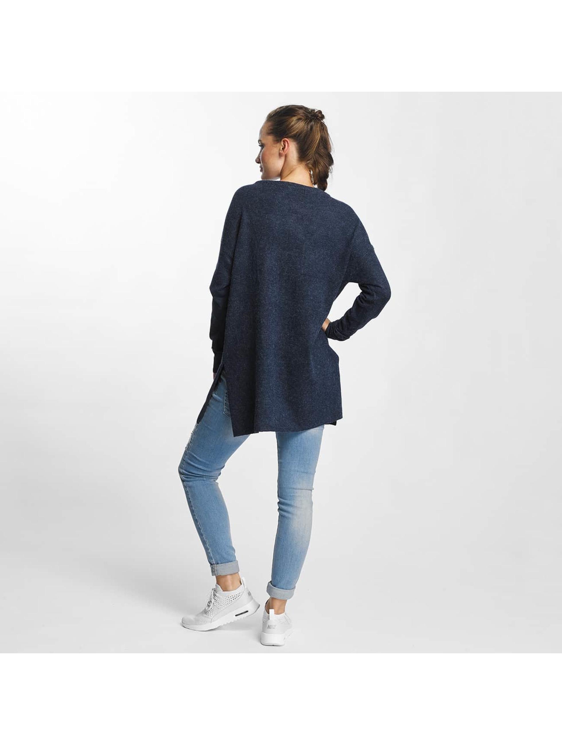 Vero Moda Tričká dlhý rukáv vmBrilliant modrá