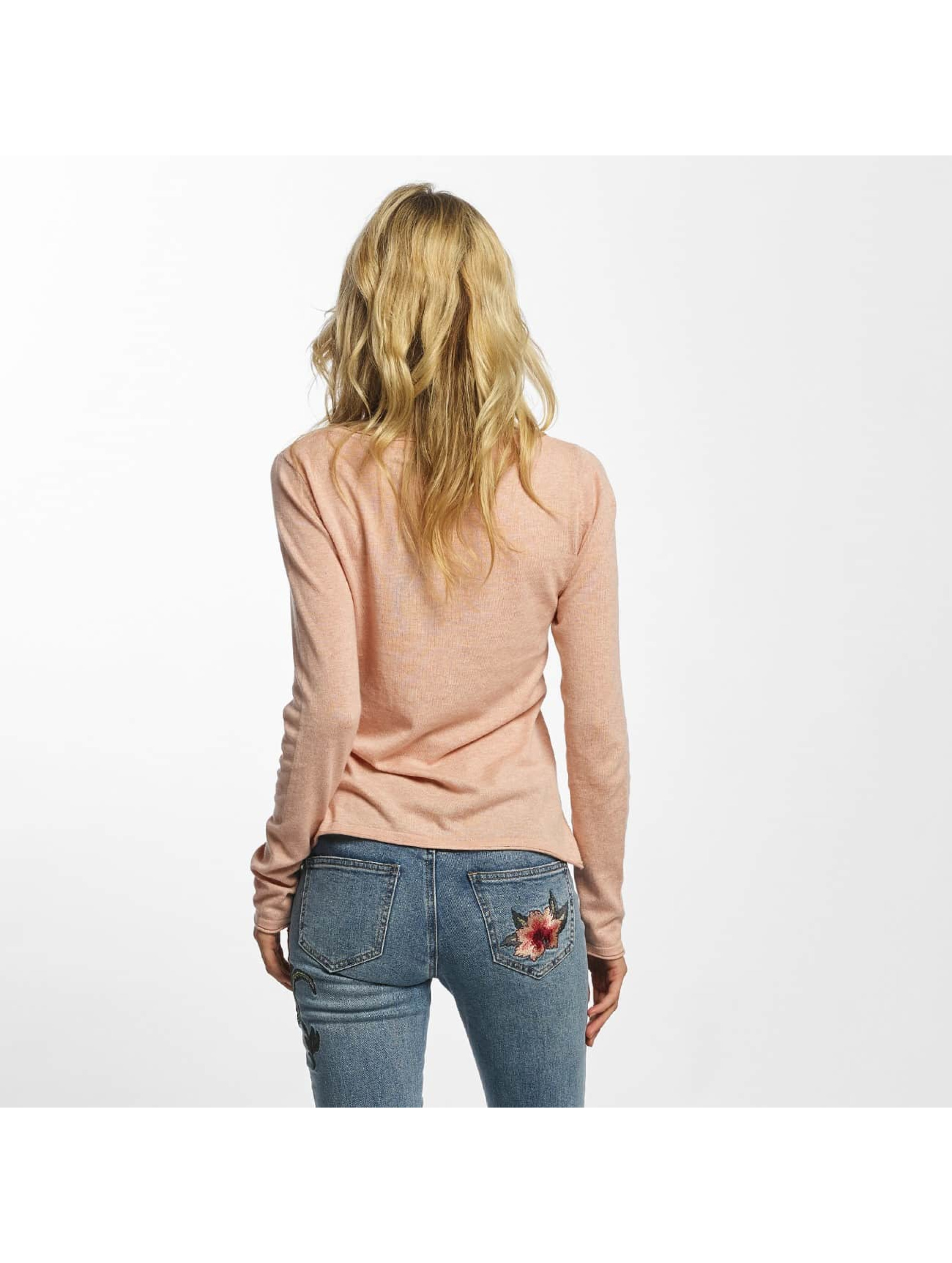Vero Moda Tričká dlhý rukáv vmSofia ružová
