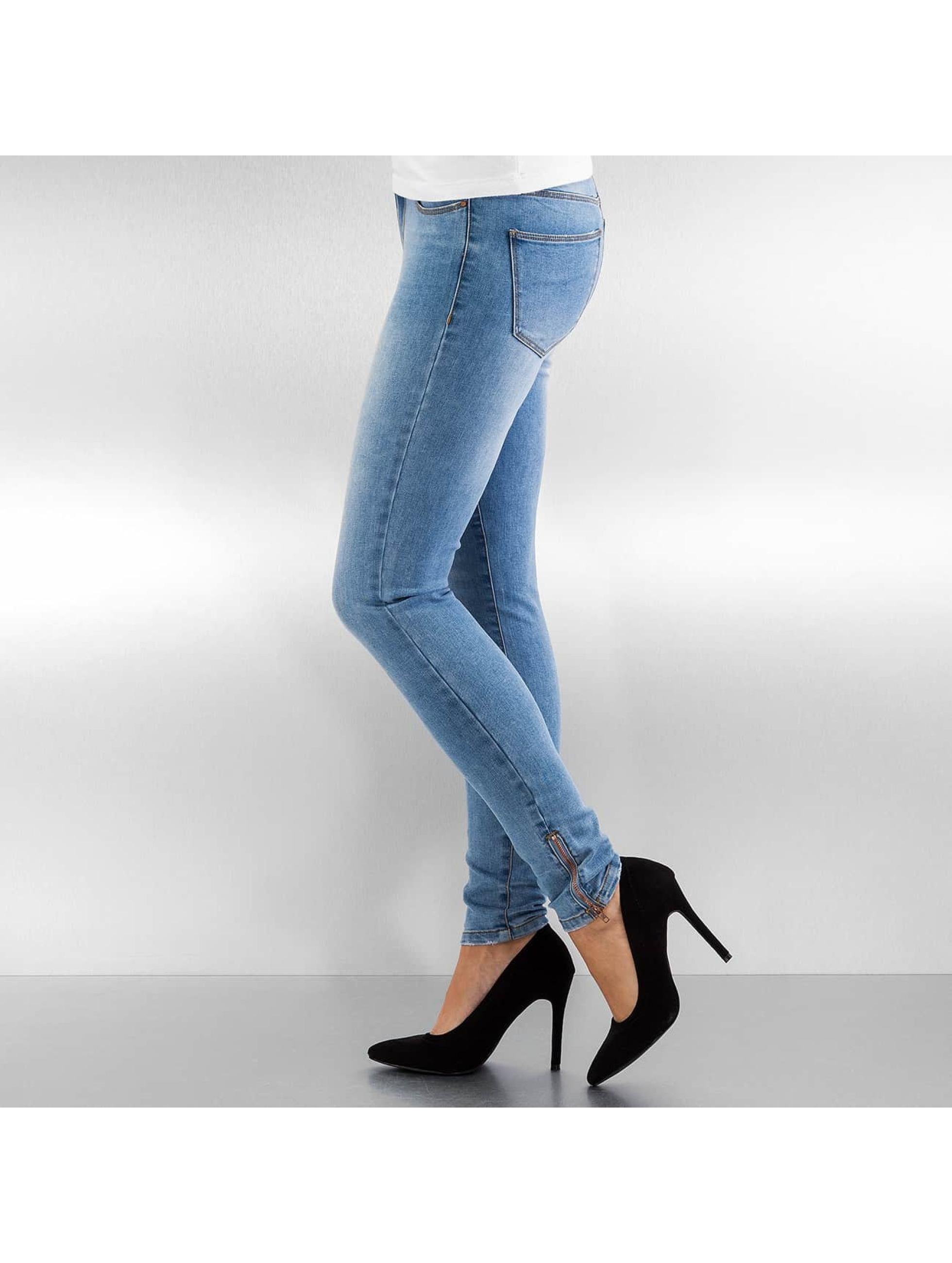 Vero Moda Tynne bukser vmSeven blå