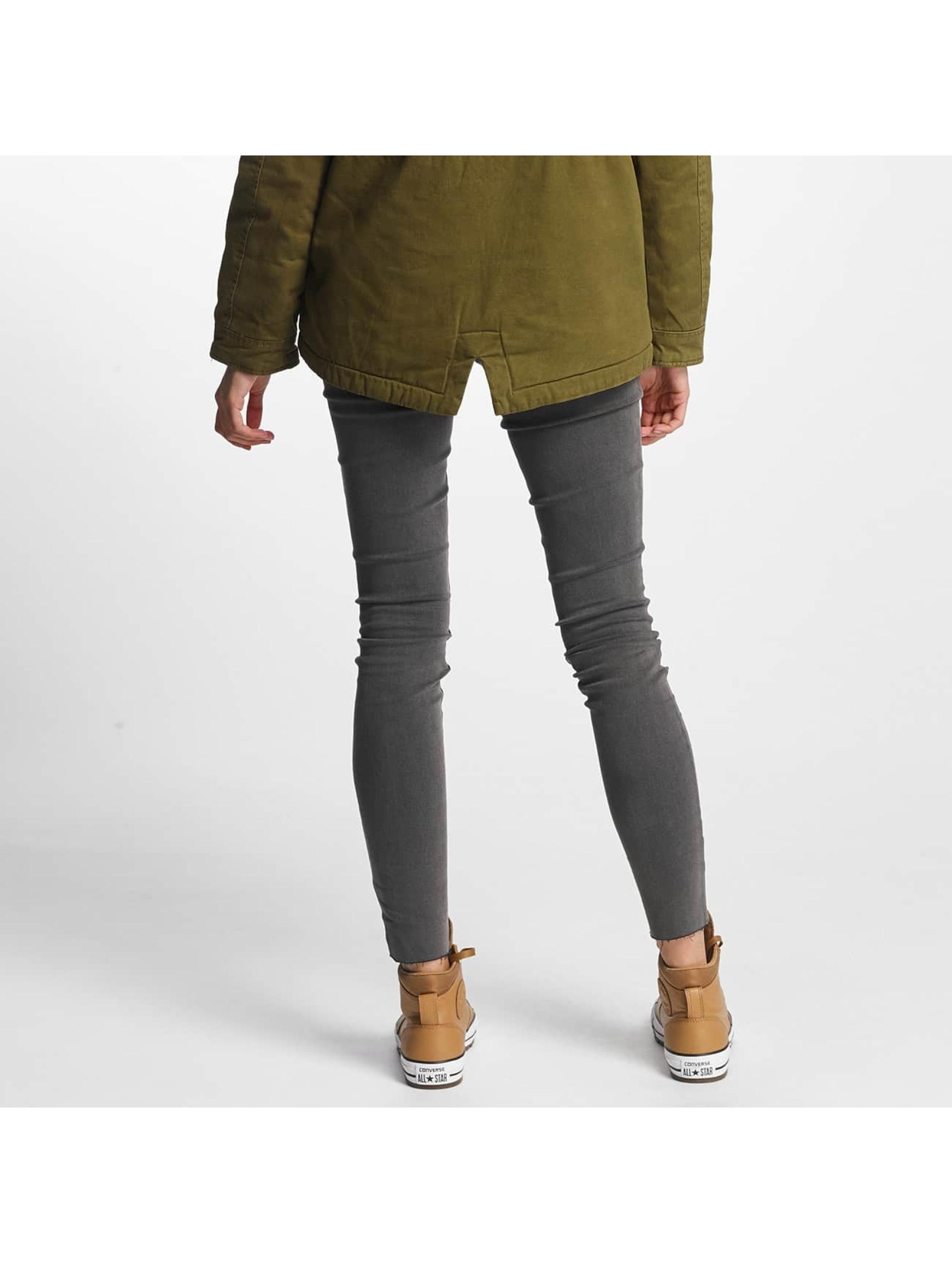 Vero Moda Tynne bukser vmFive Slim Fit grå