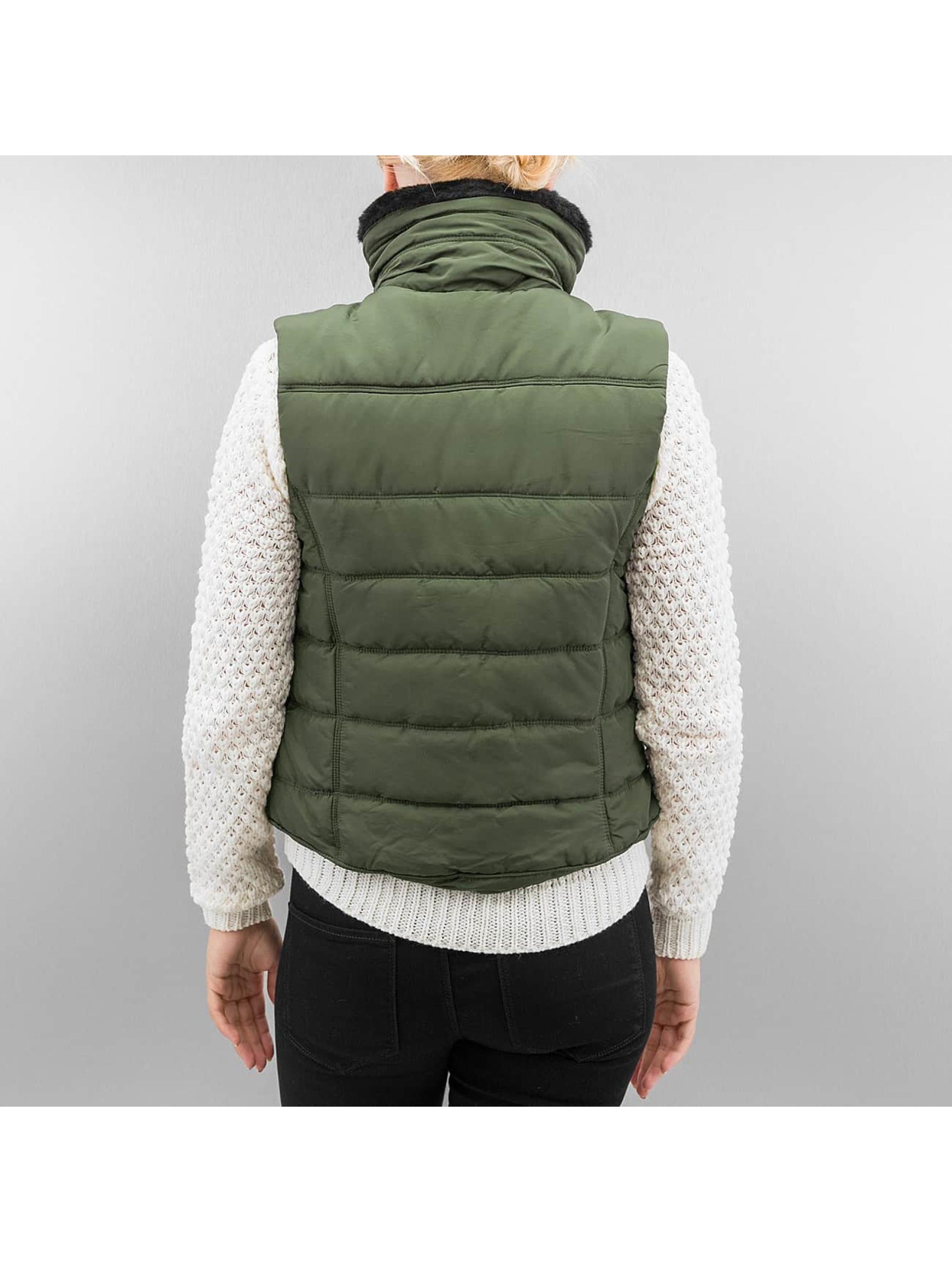 Vero Moda Veste sans manche vmSense vert