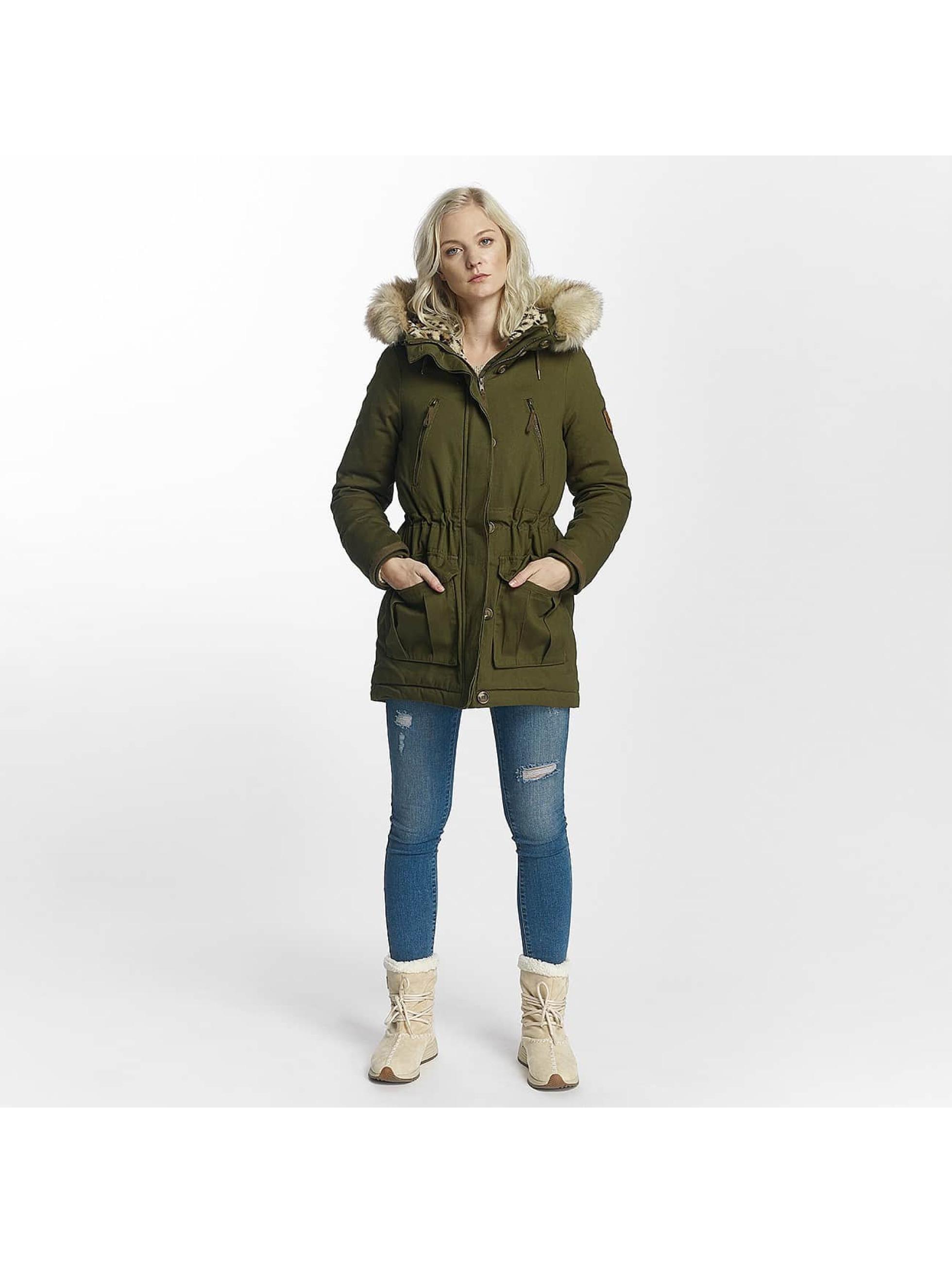 Vero Moda Zimné bundy vmDana olivová