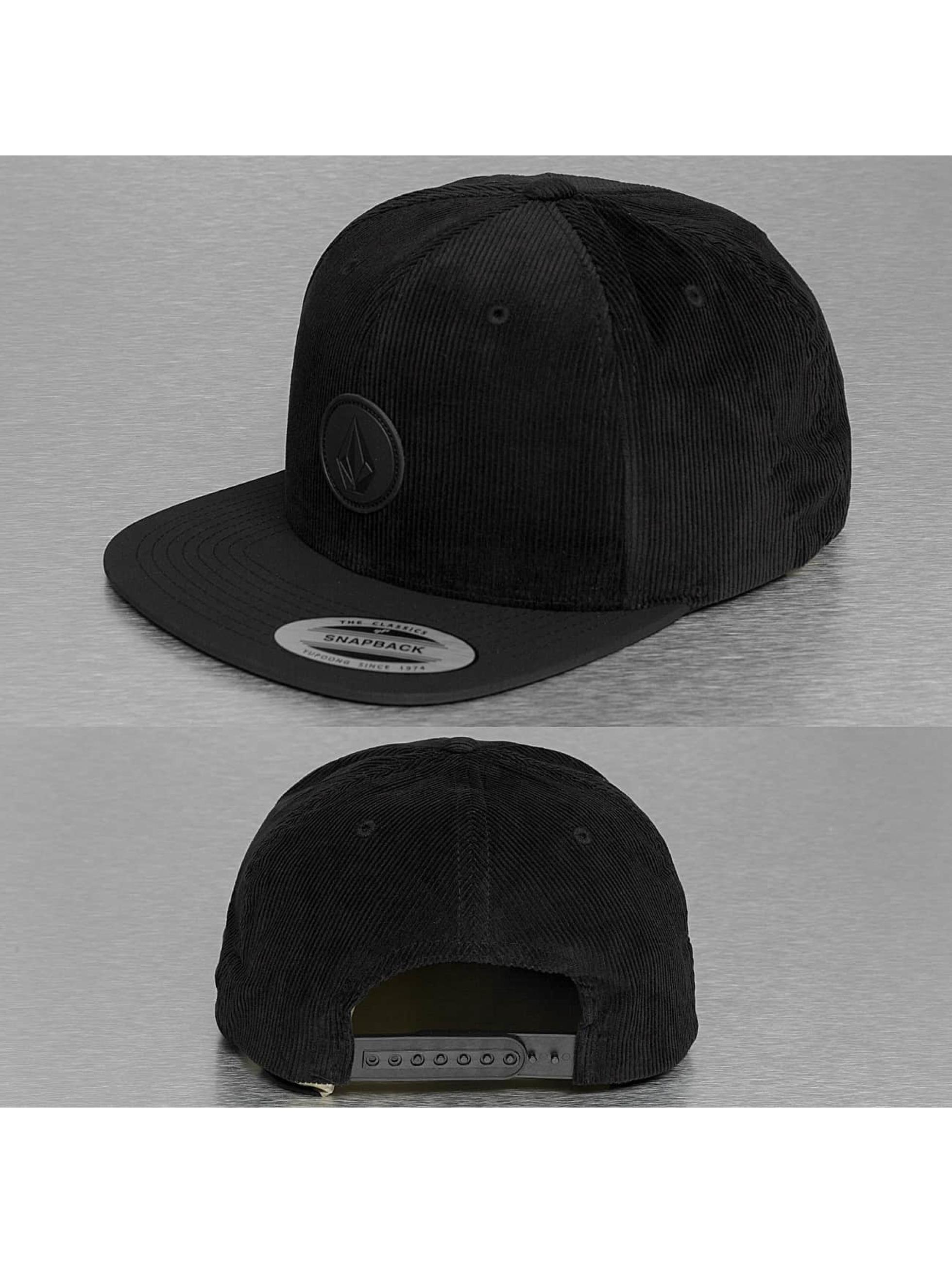 Volcom Кепка с застёжкой Quarter Fabric черный