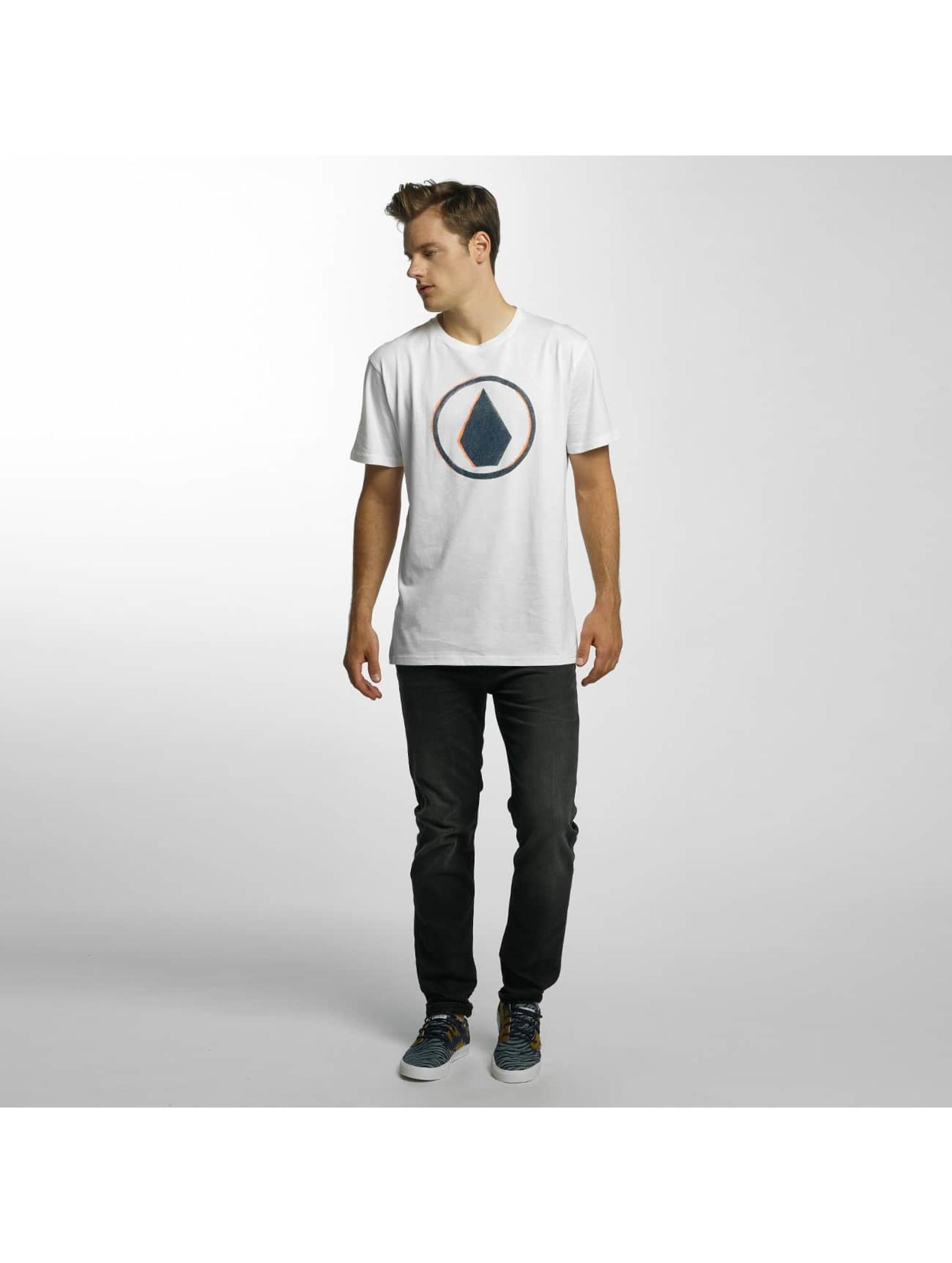 Volcom Camiseta Burnt Basic blanco