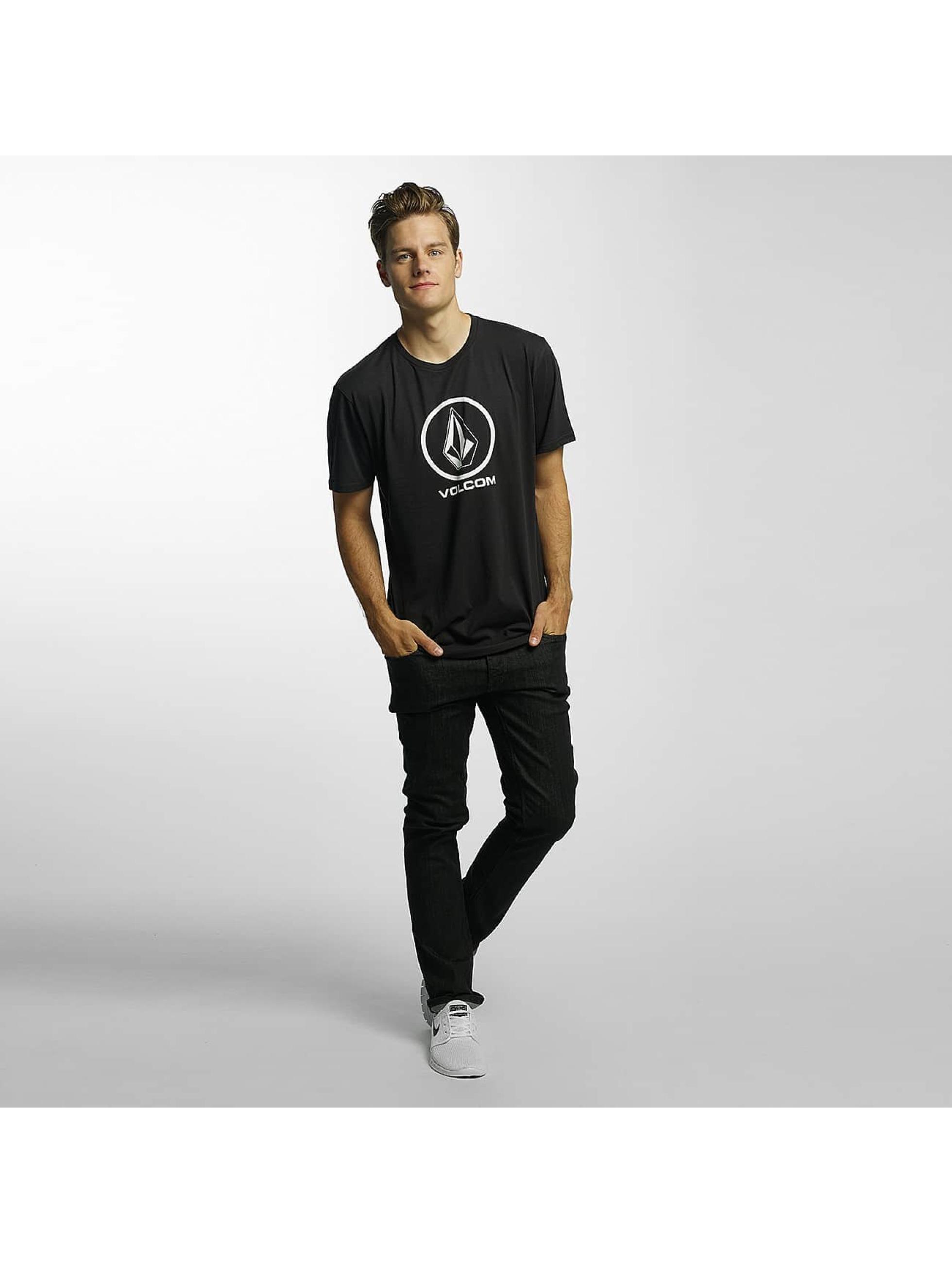 Volcom Camiseta Circle Stone Basic negro