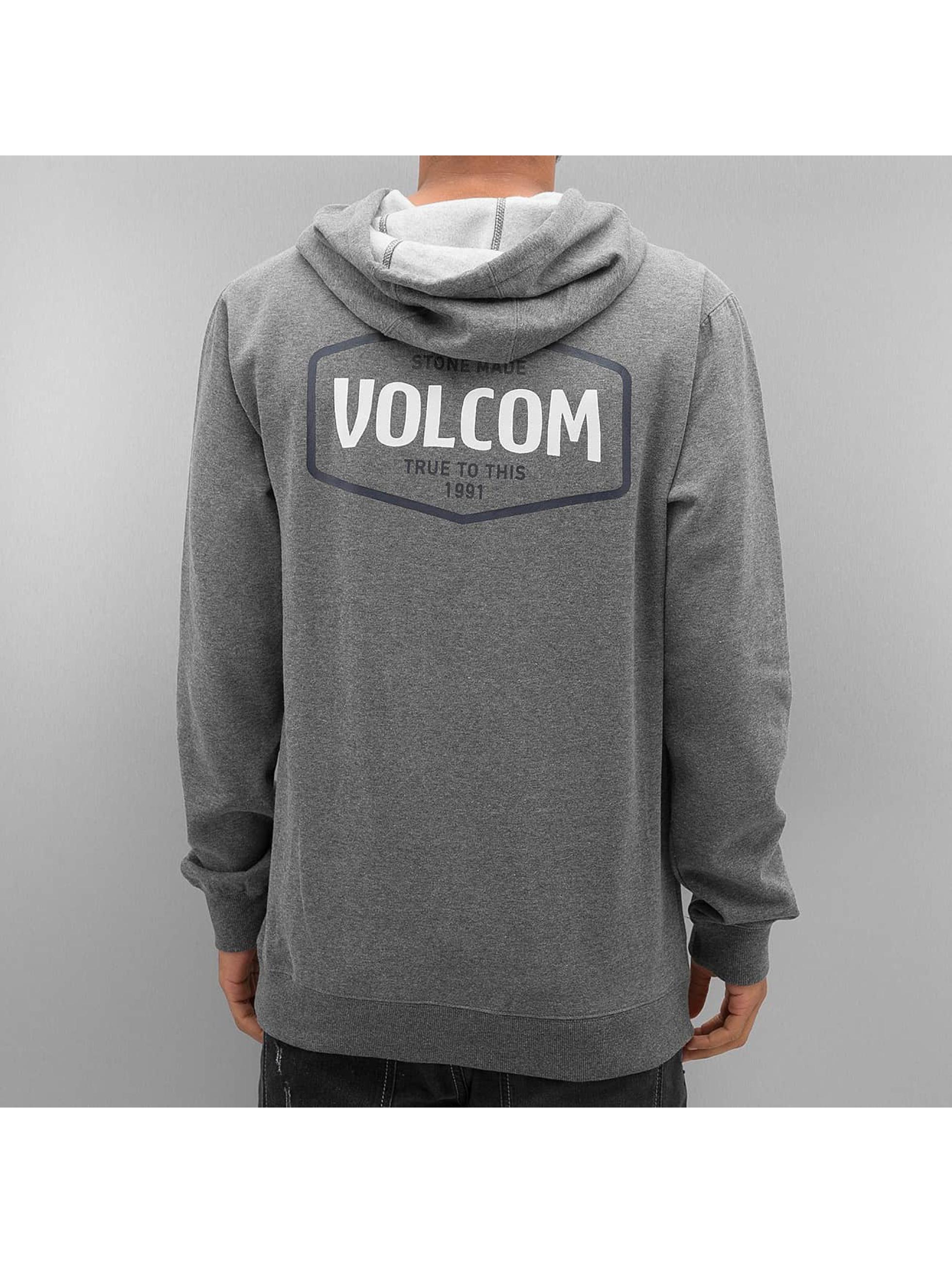 Volcom Felpa con cappuccio Packsaddle grigio