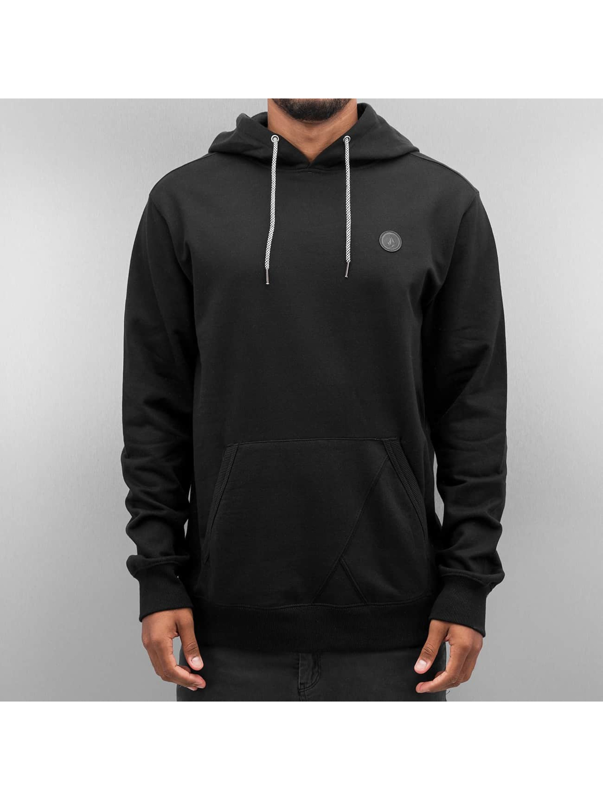 Volcom Hoodie Single Stone black