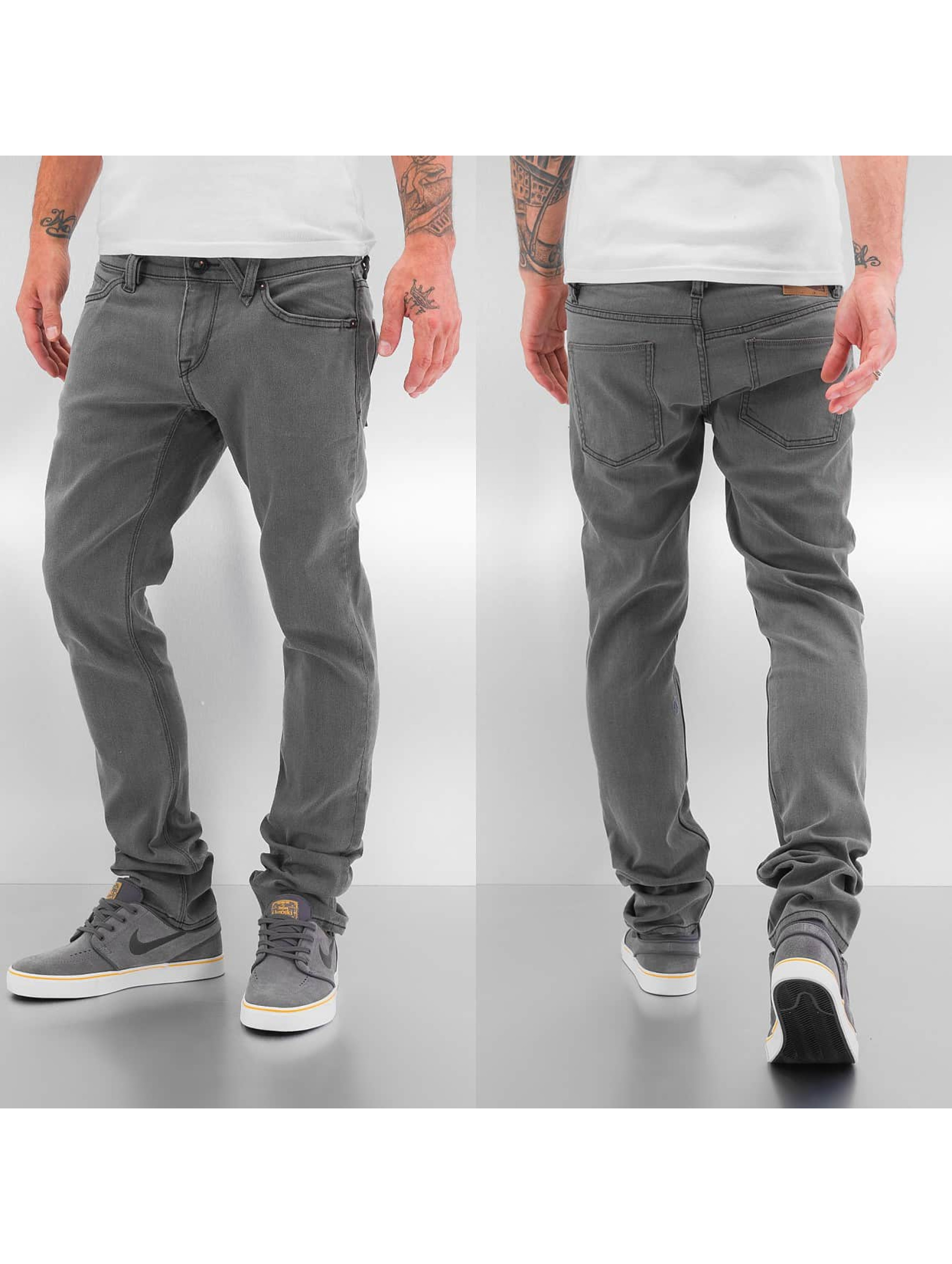 Volcom Jean skinny 2x4 Denim gris
