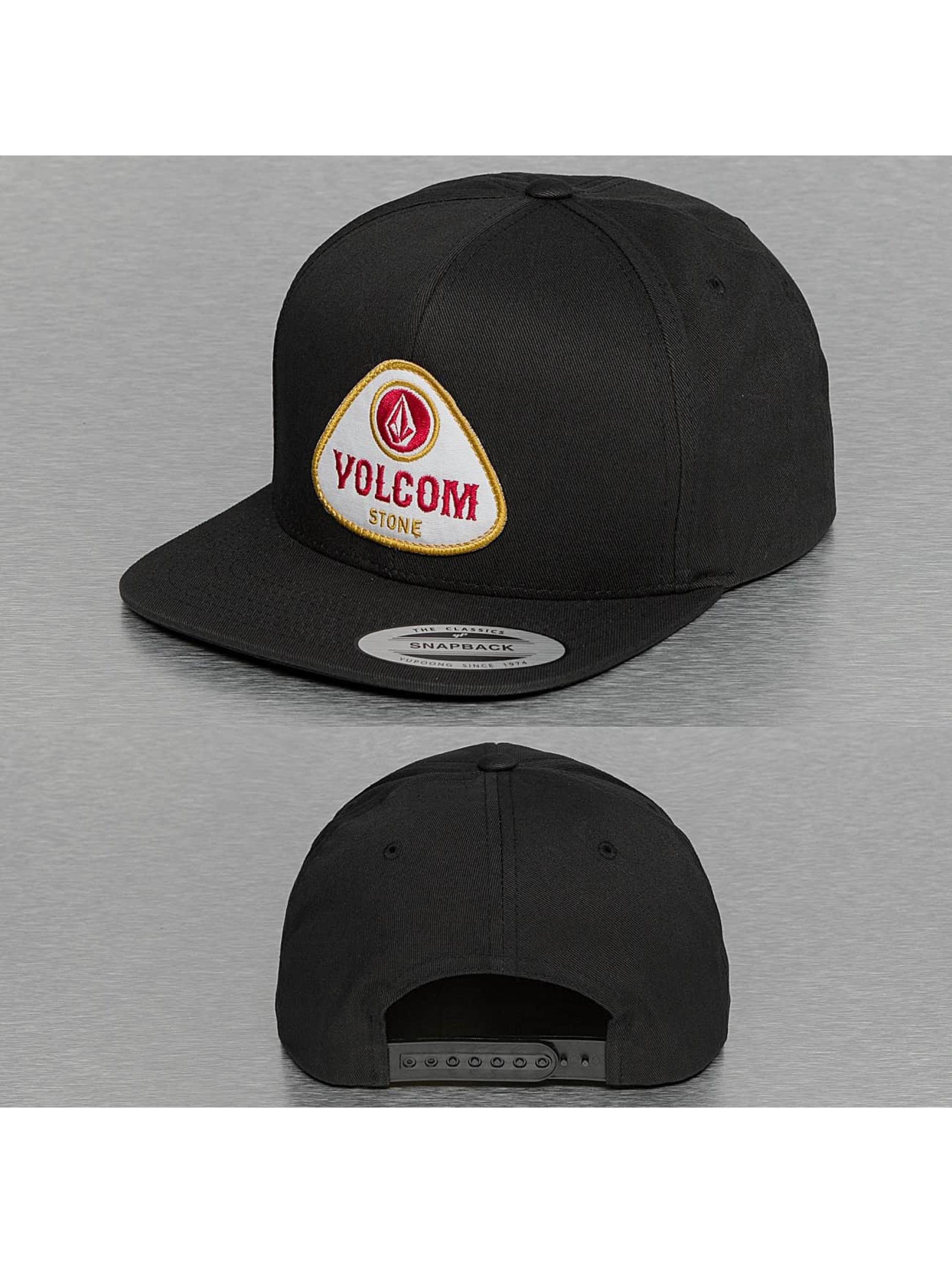 Volcom Snapback Cap Cresticle grey