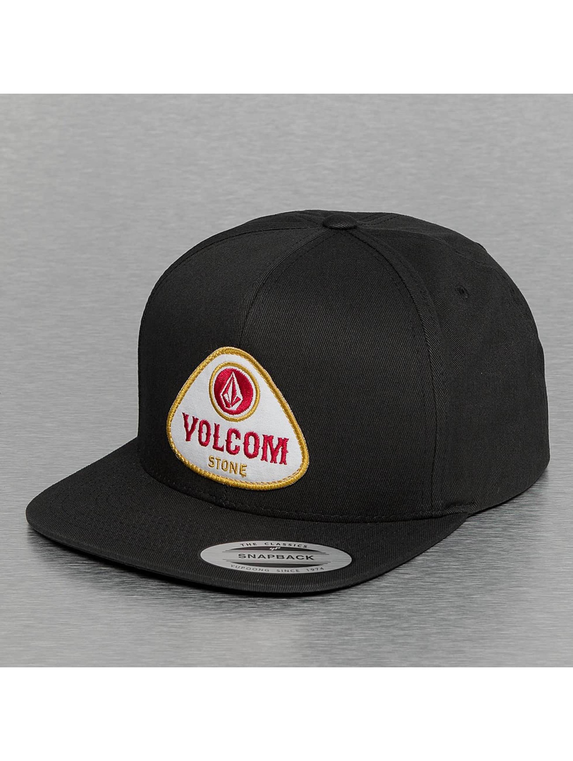 Volcom Snapback Caps Cresticle grå
