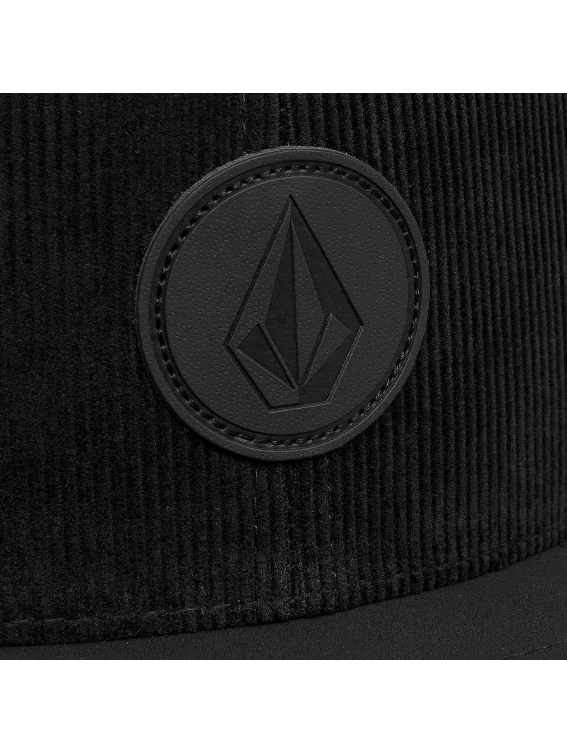 Volcom Snapback Caps Quarter Fabric musta