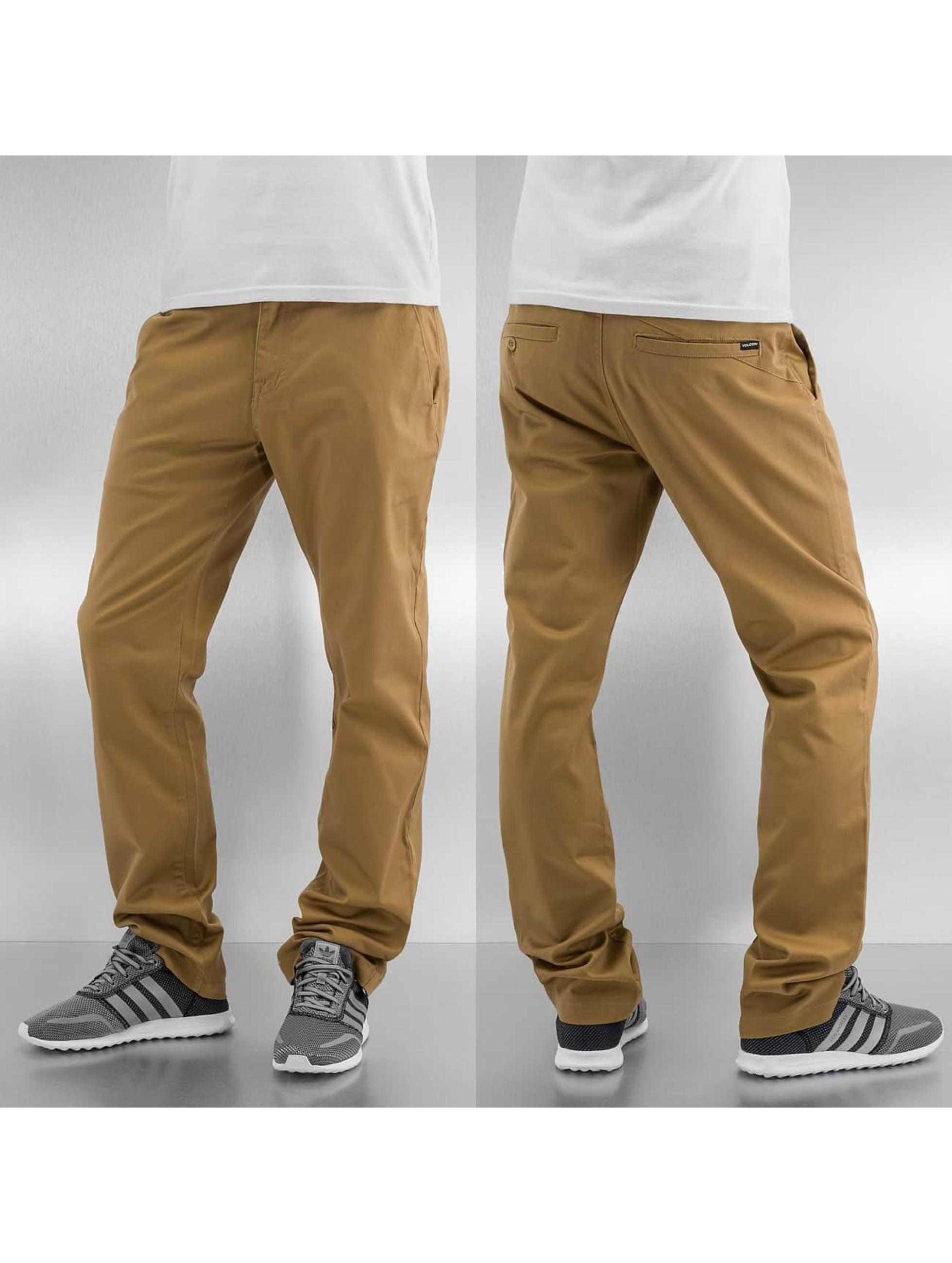 Volcom Spodnie wizytowe Frickin Modern khaki