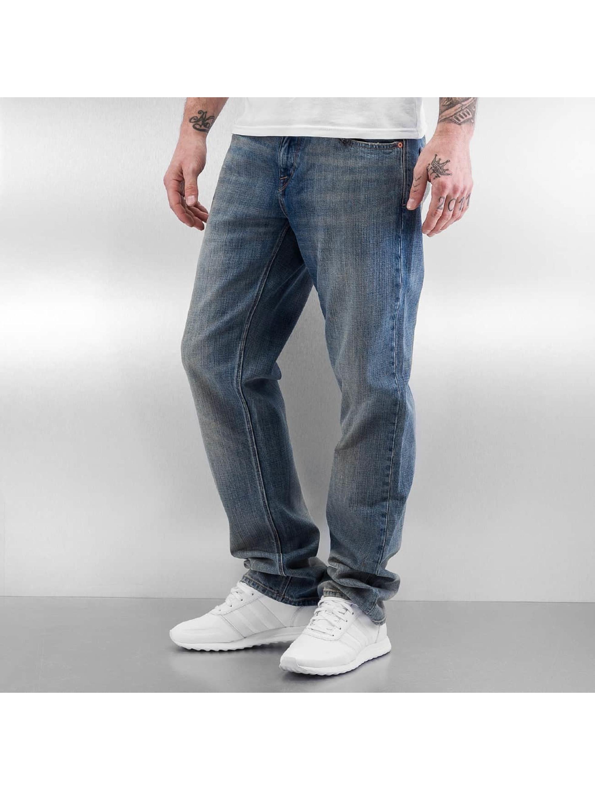 Volcom Straight Fit Jeans Solver blå