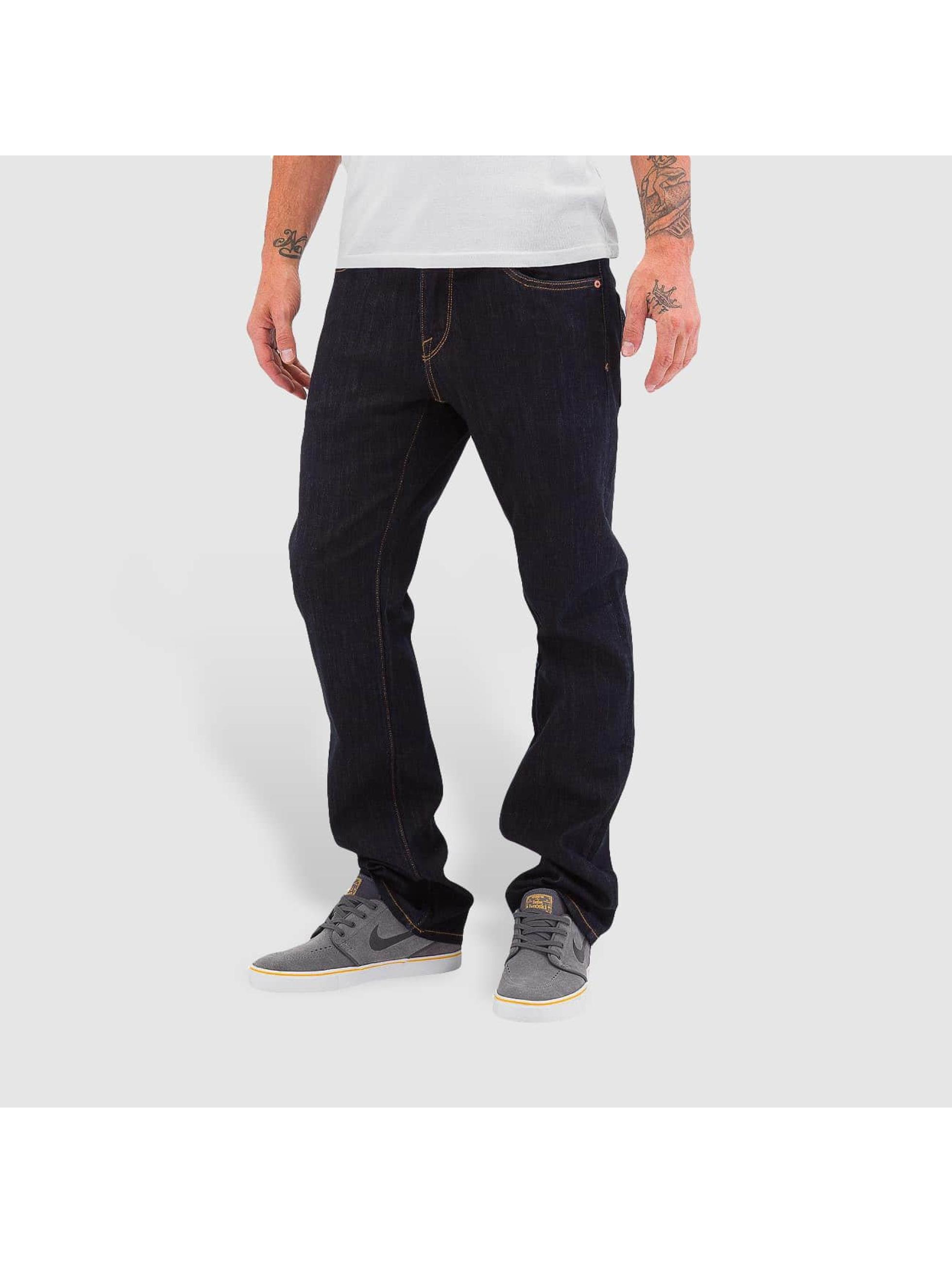 Volcom Straight Fit Jeans Kinkade blau