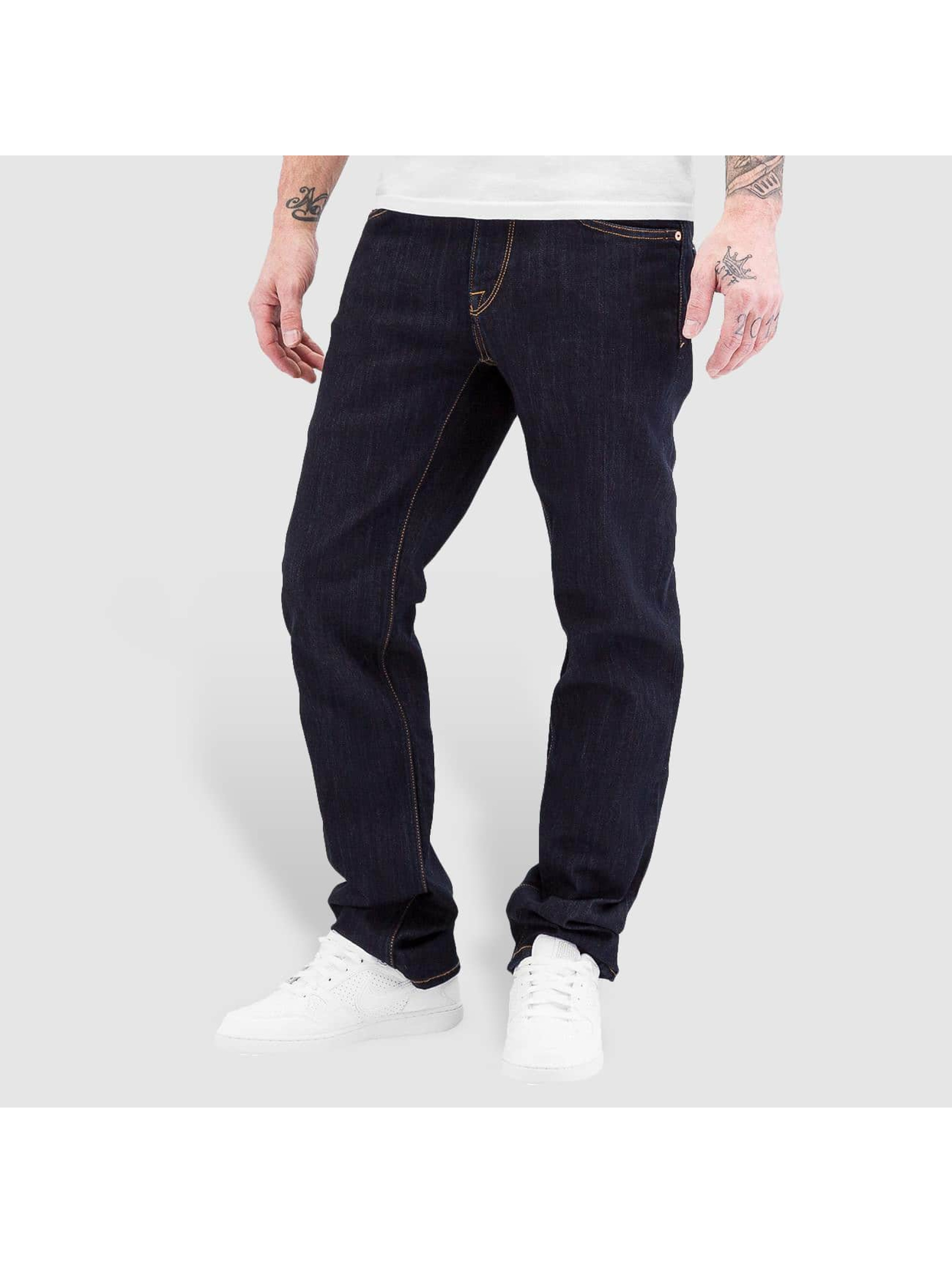 Volcom Straight fit jeans Solver blauw