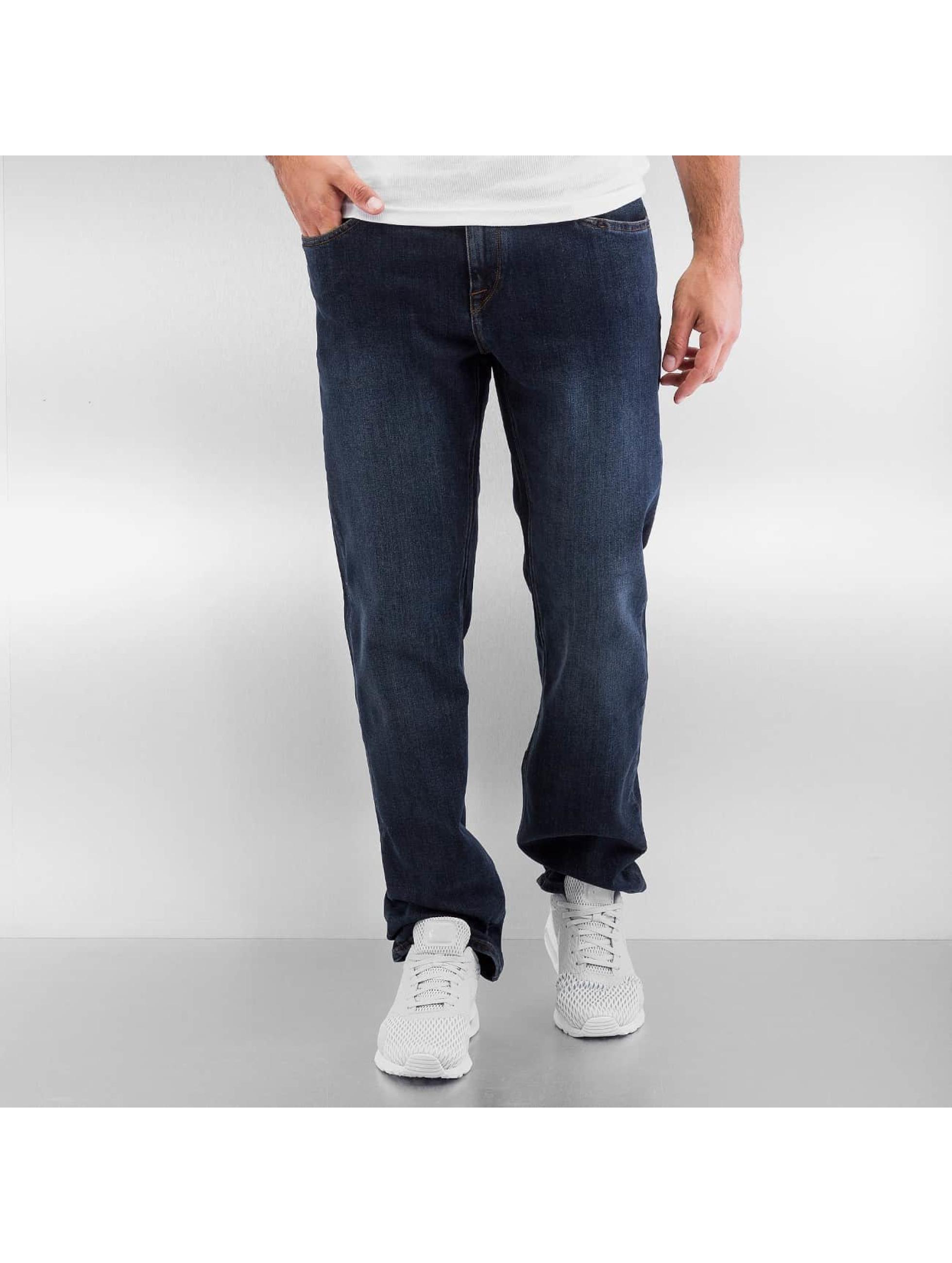 Volcom Straight fit jeans Solver Denim blauw