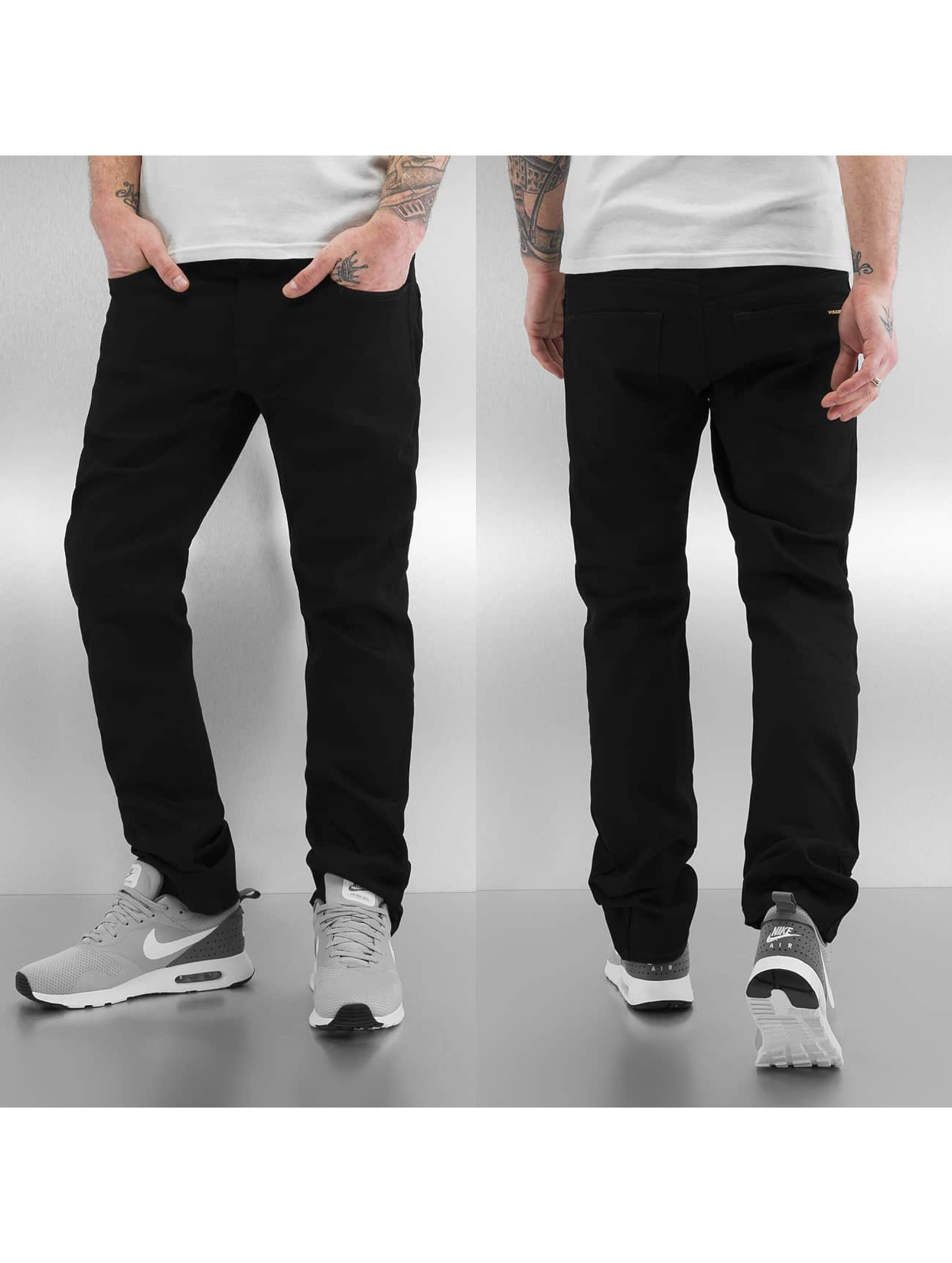 Volcom Straight Fit Jeans Vorta Form Denim schwarz