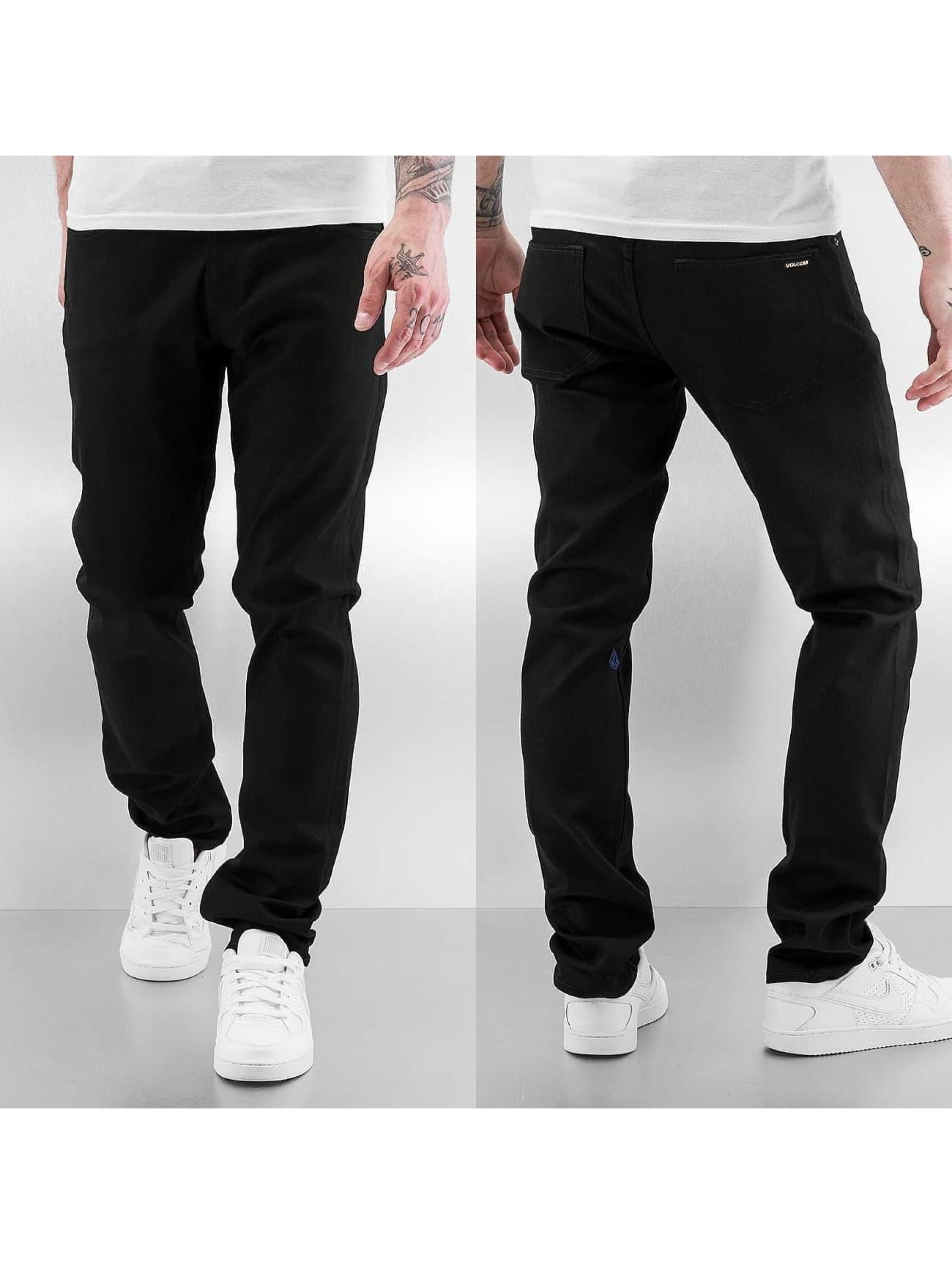 Volcom Straight Fit Jeans Vorta Denim schwarz