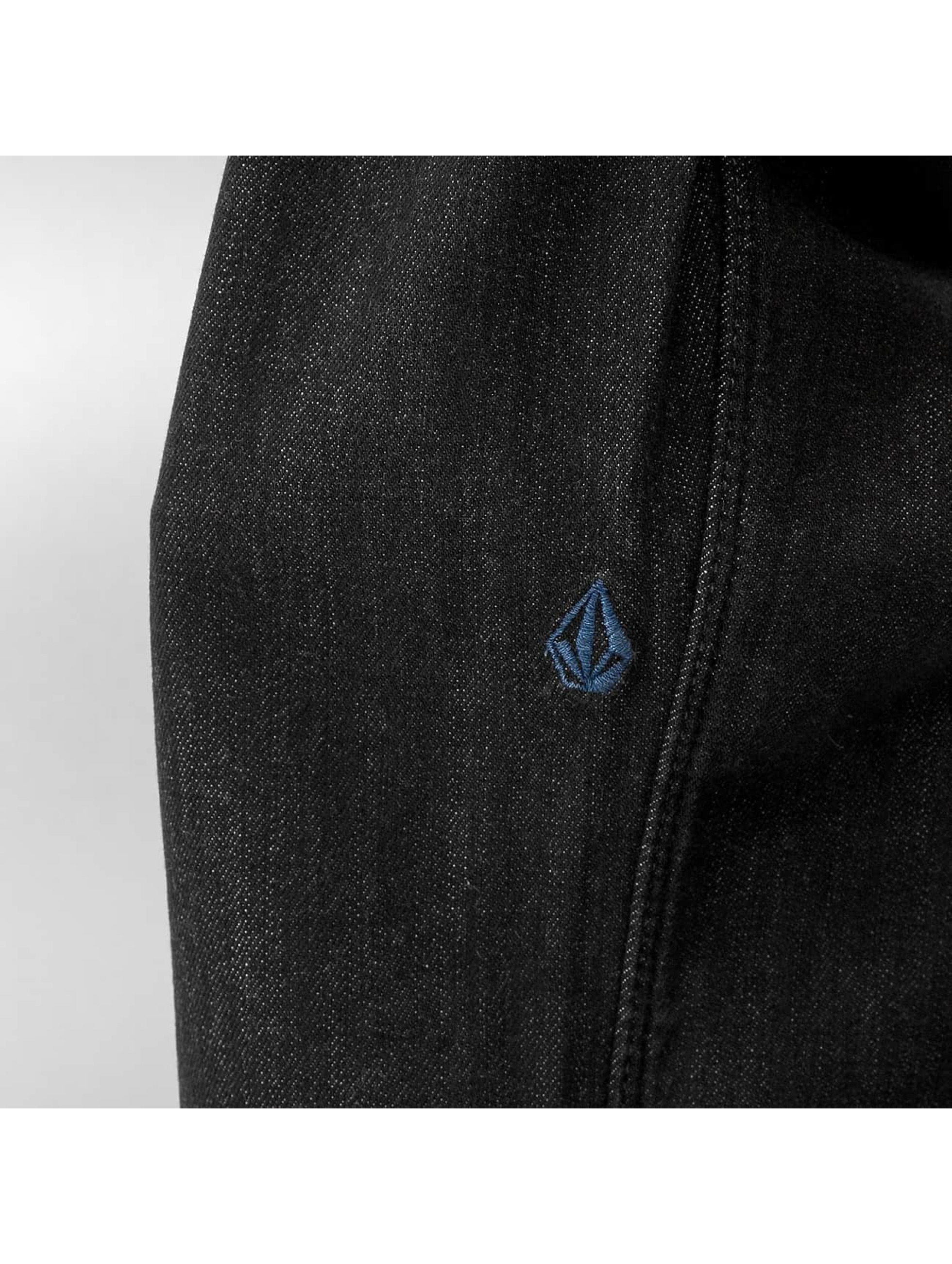 Volcom Straight Fit Jeans Vorta svart