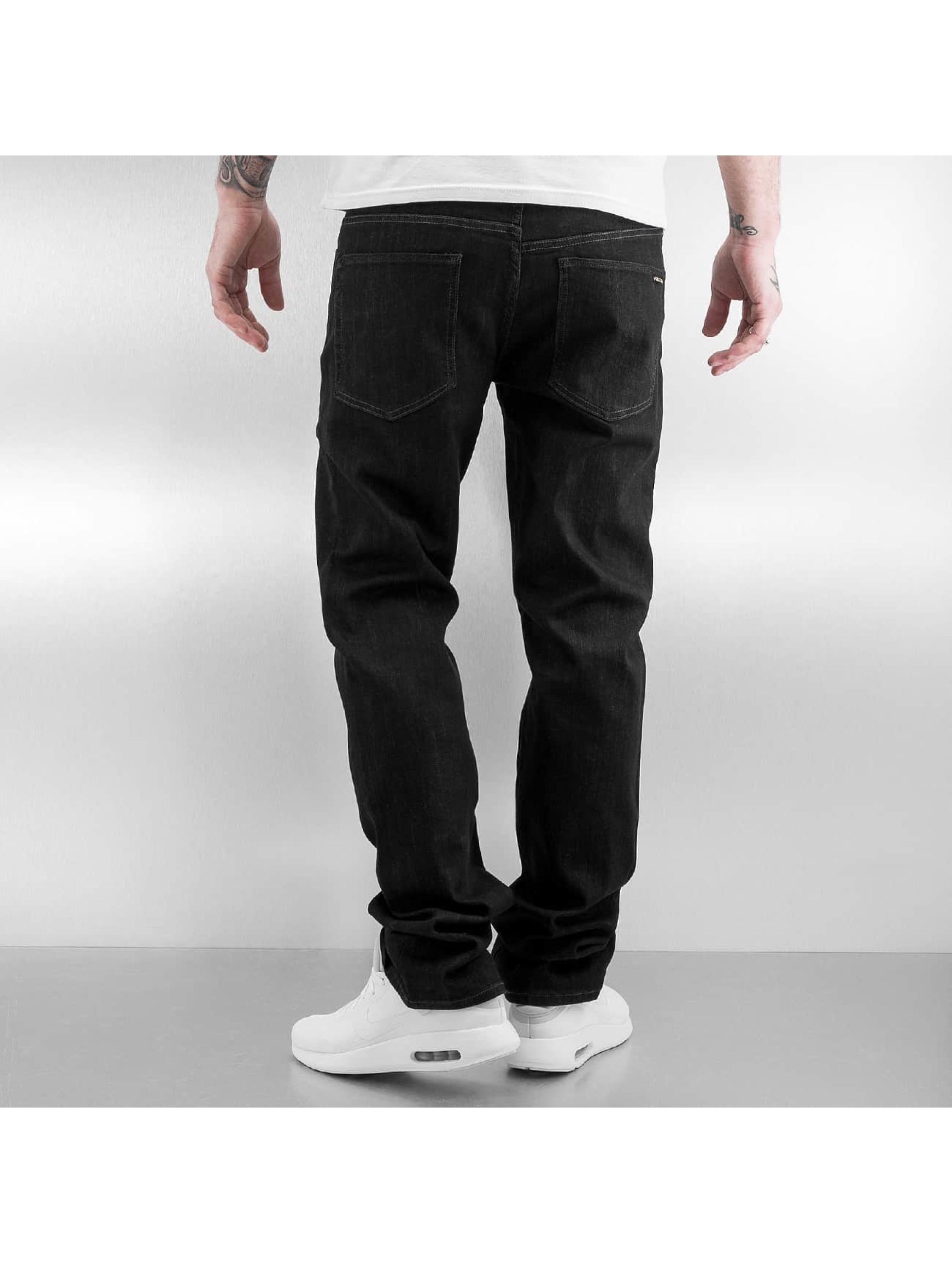 Volcom Straight Fit Jeans Solver svart