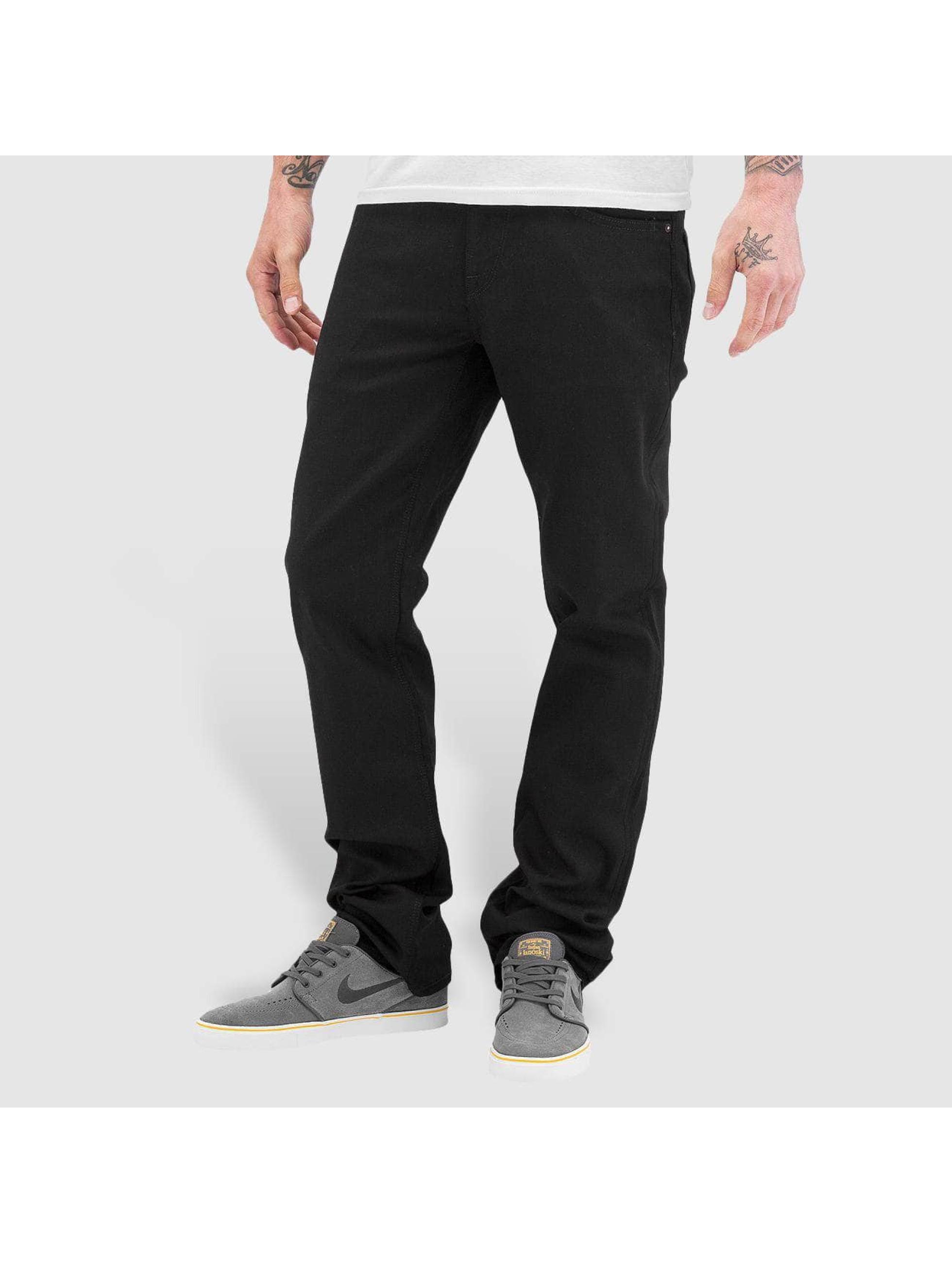 Volcom Straight fit jeans Solver Denim zwart