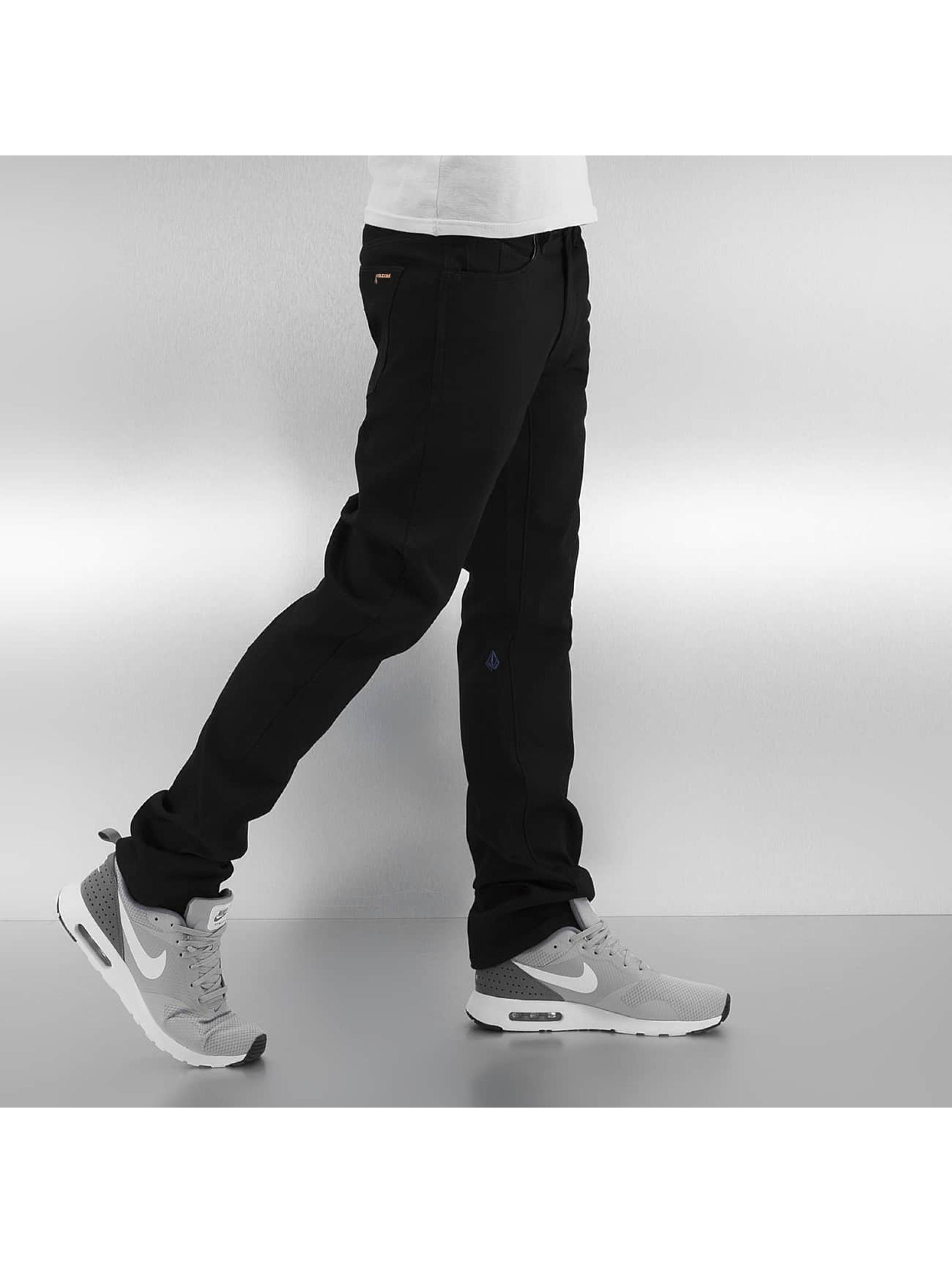 Volcom Straight fit jeans Vorta Form Denim zwart