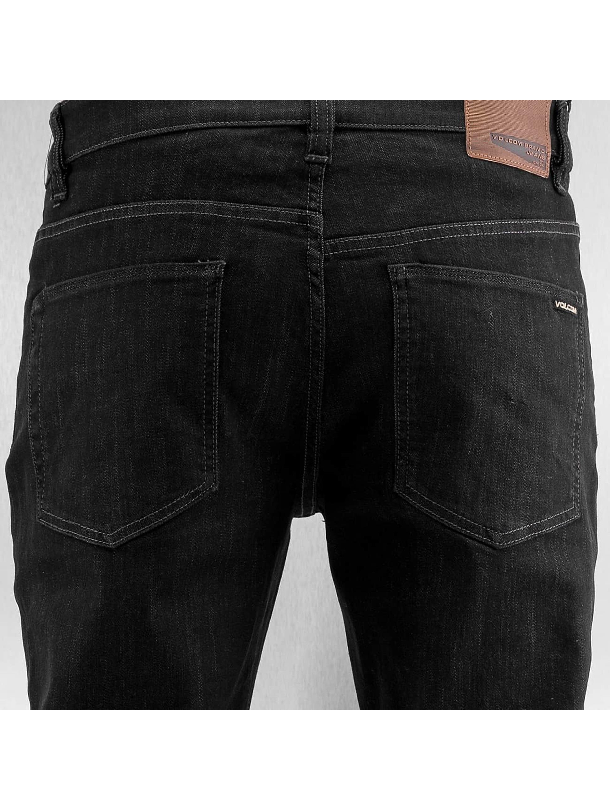 Volcom Straight fit jeans Solver zwart