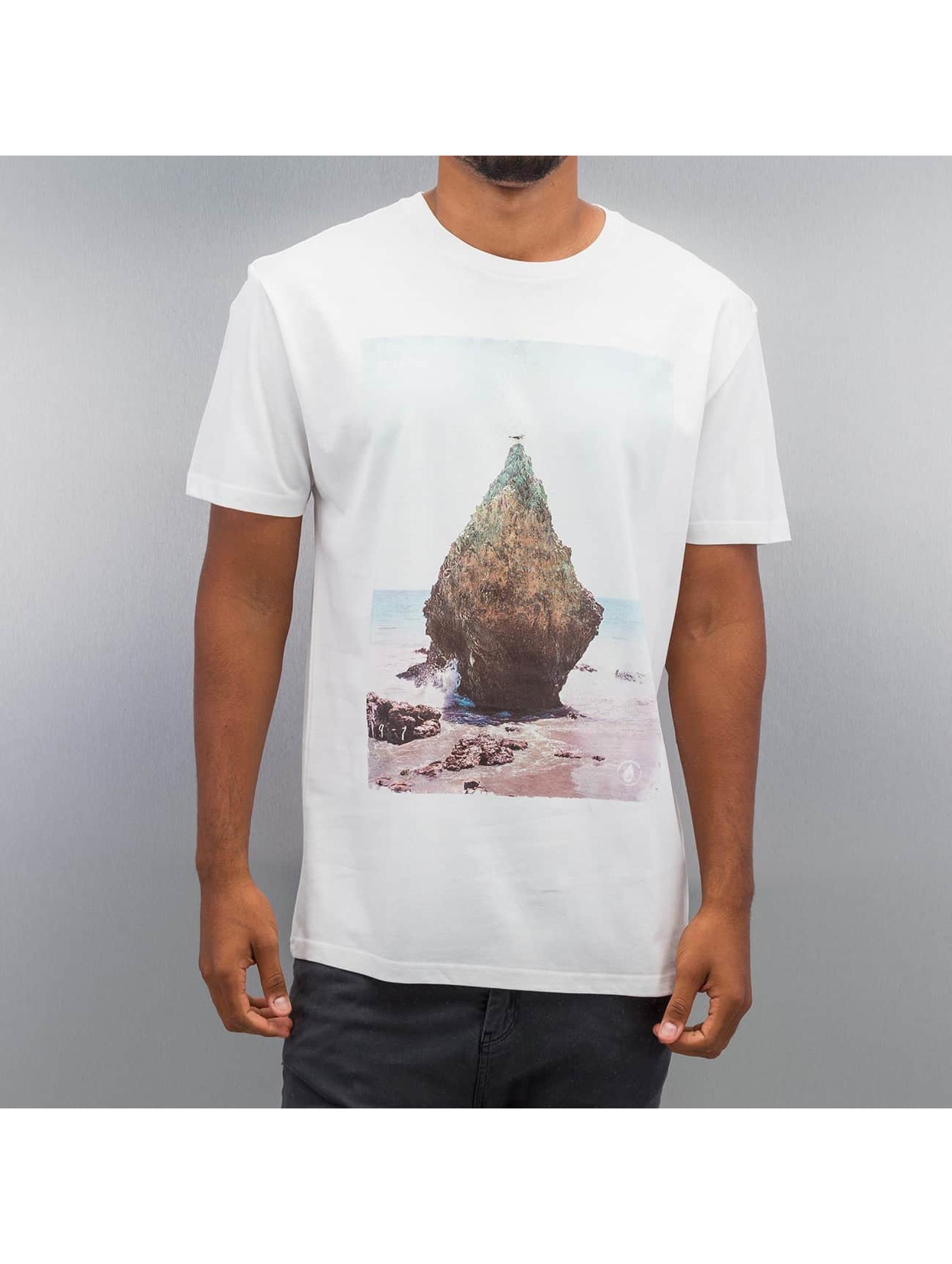 Volcom T-Shirt Stoned blanc