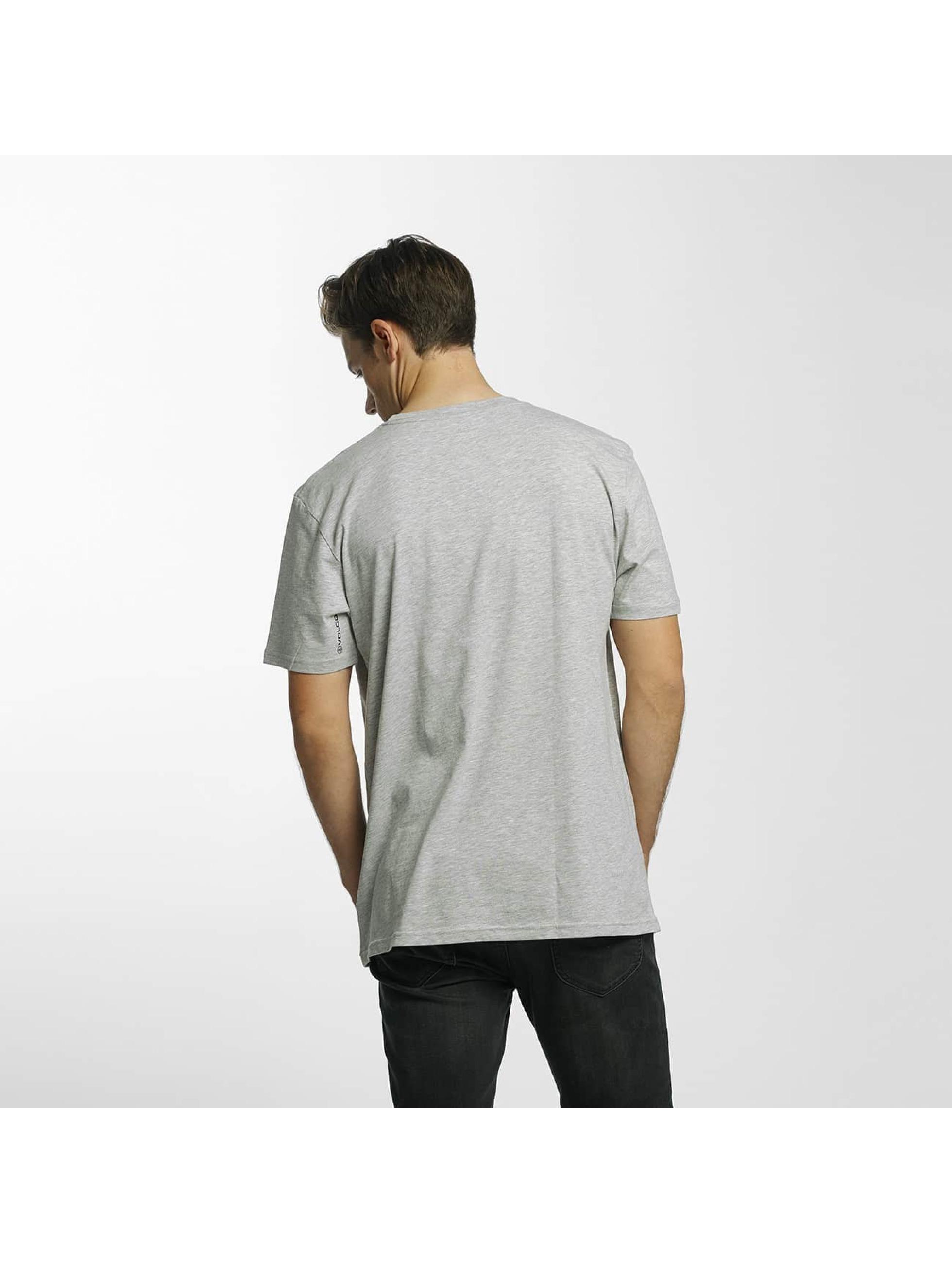Volcom T-Shirt Circle Stone Basic grau